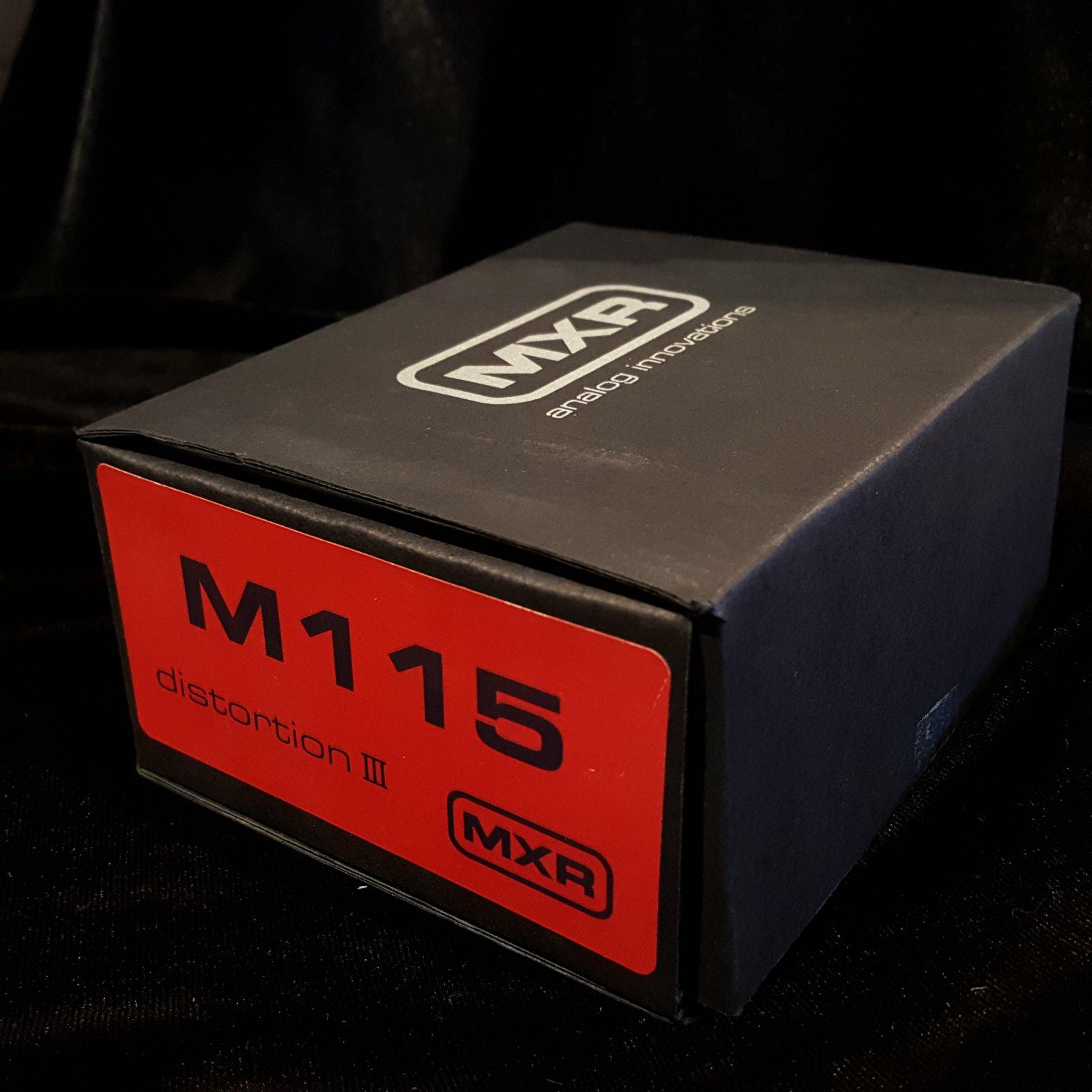 MXR M115 Distortion III Guitar Effects Pedal