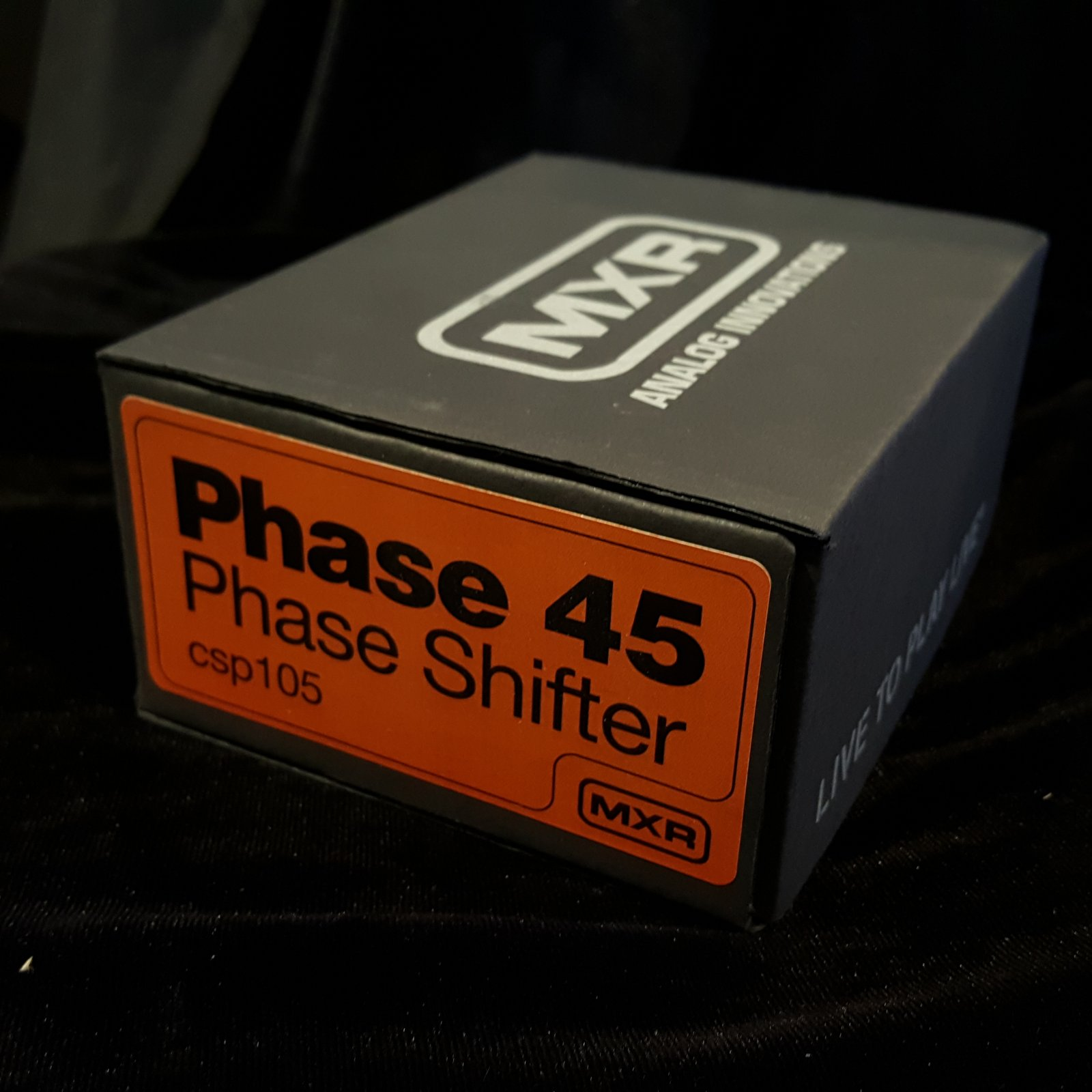 MXR CSP105 Phase 45  Vintage Reissue Phase Shifter Effects Pedal