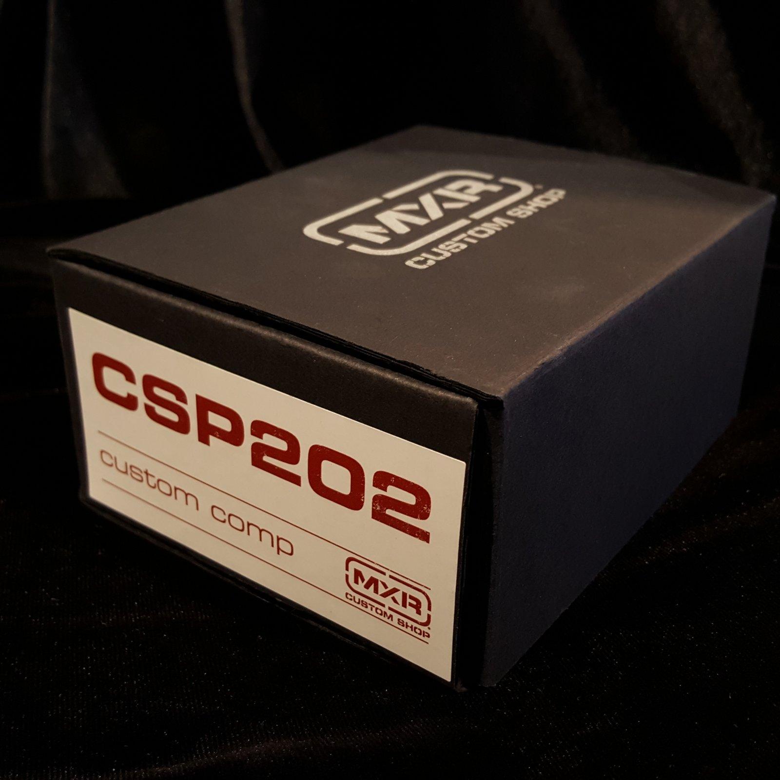 MXR CSP202 Custom Shop Compressor Effects Pedal