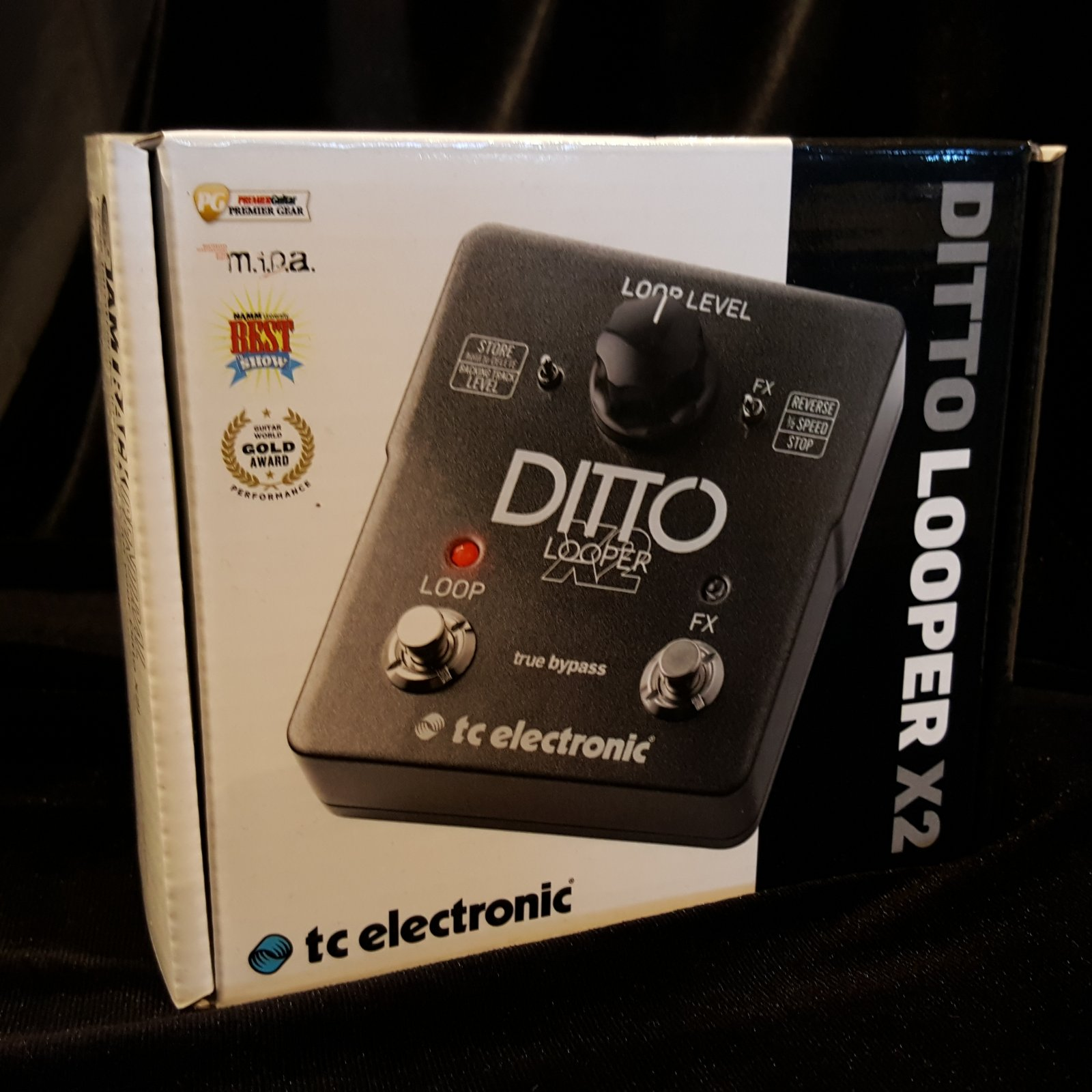 TC Electronic Ditto Looper Pedal  X2
