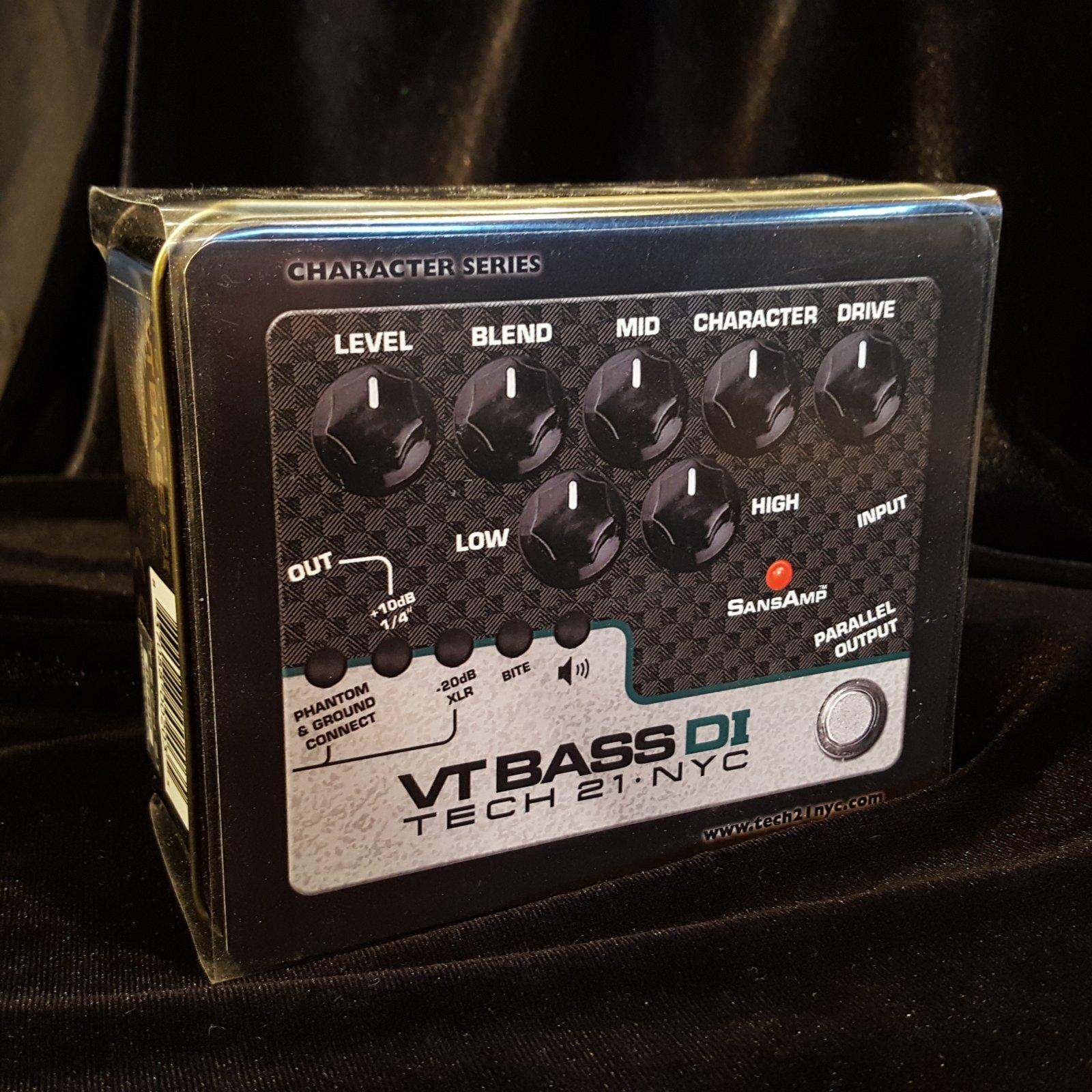 Tech 21 VT Bass Driver DI Sans Amp