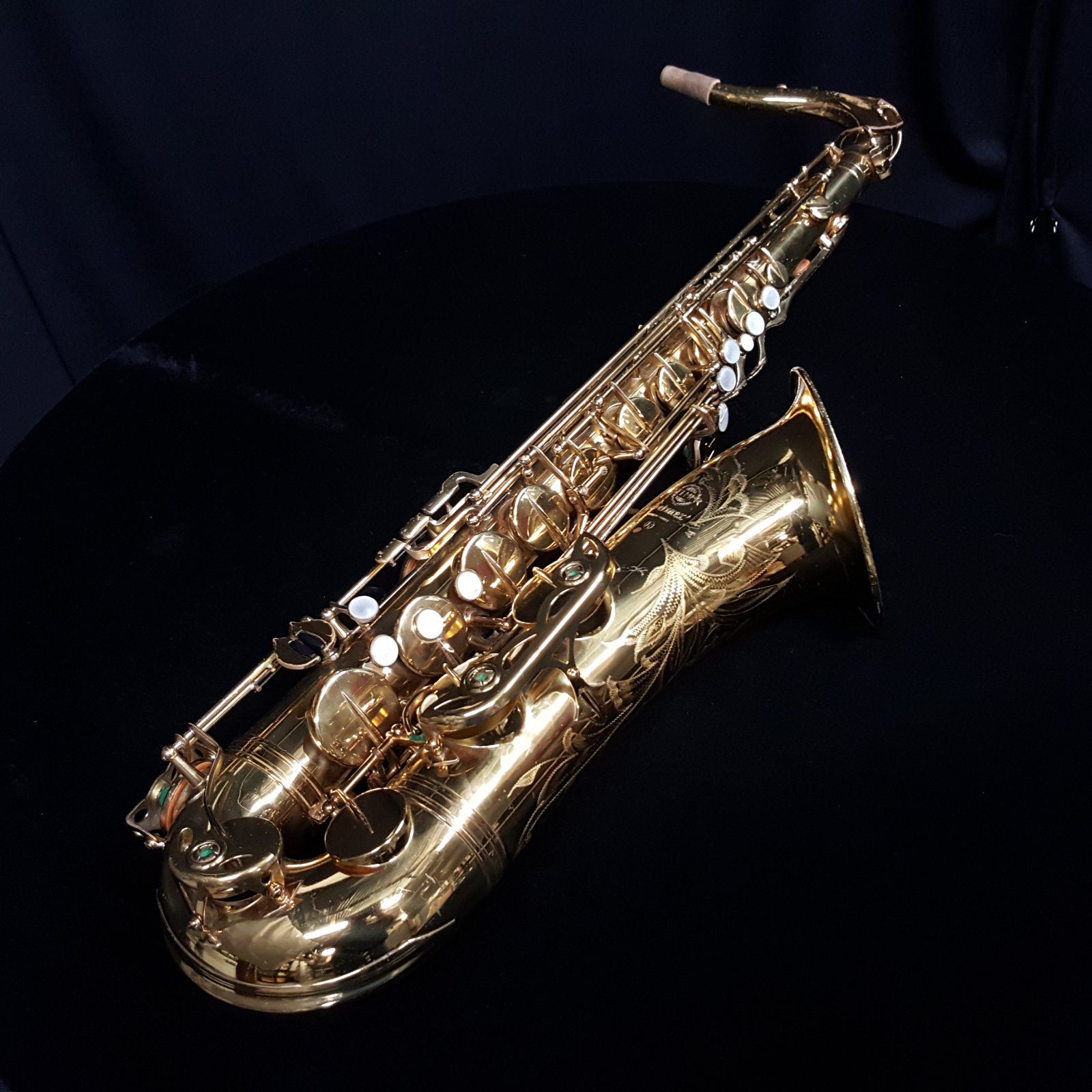 Used Selmer 1975 Mark VI Tenor Saxophone w/Case & Mouthpieces