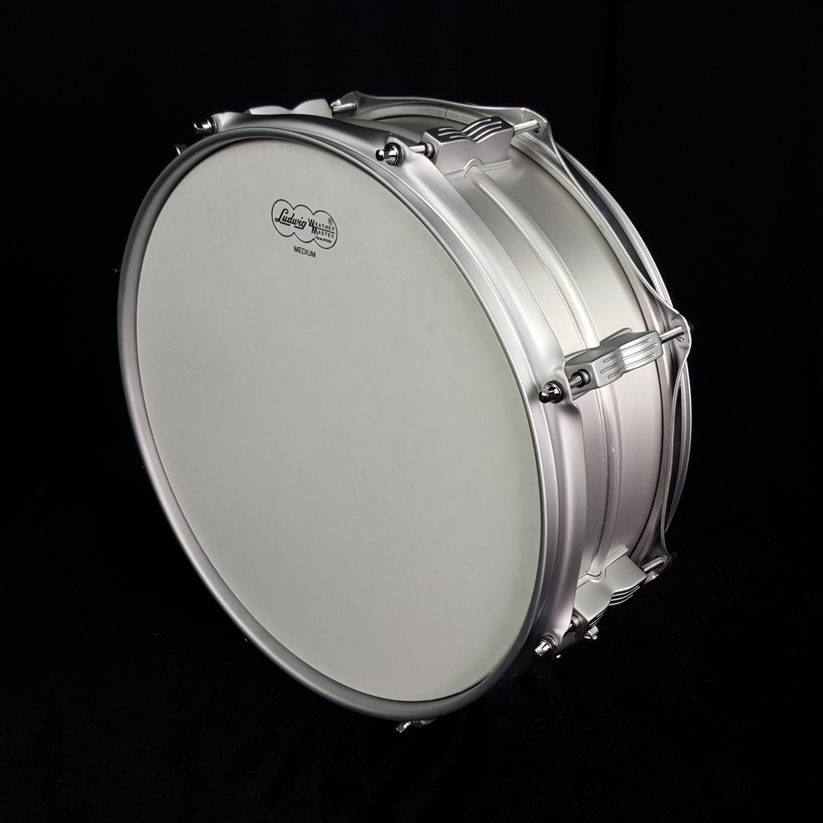 Ludwig LM404LTD  Acrolite Classic Snare Drum 5x14 Brushed Aluminum