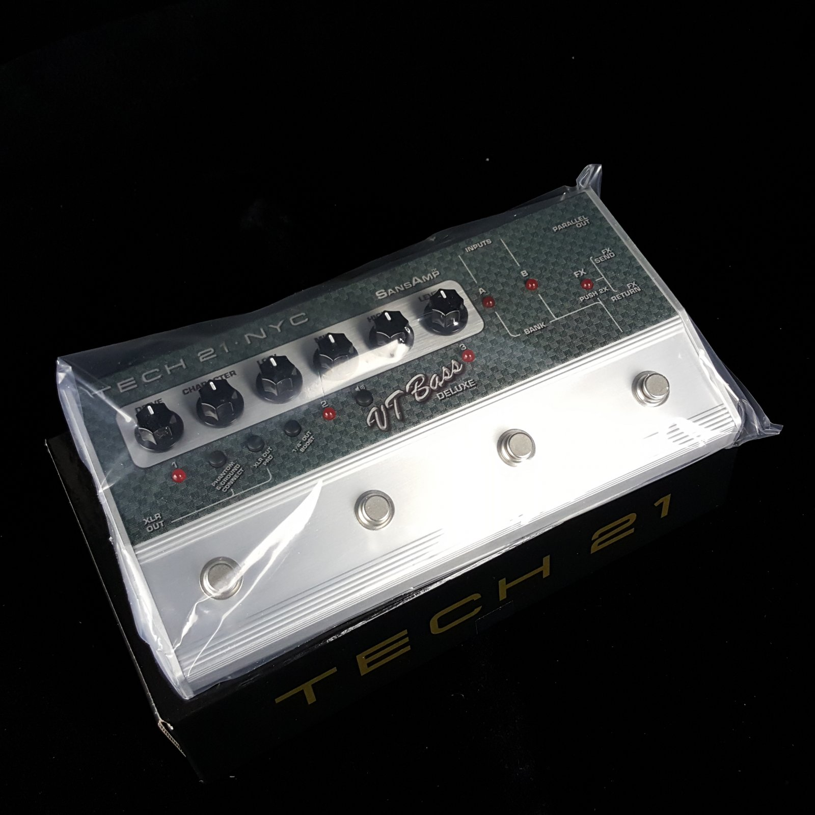 Tech 21 SansAmp VT Bass Deluxe