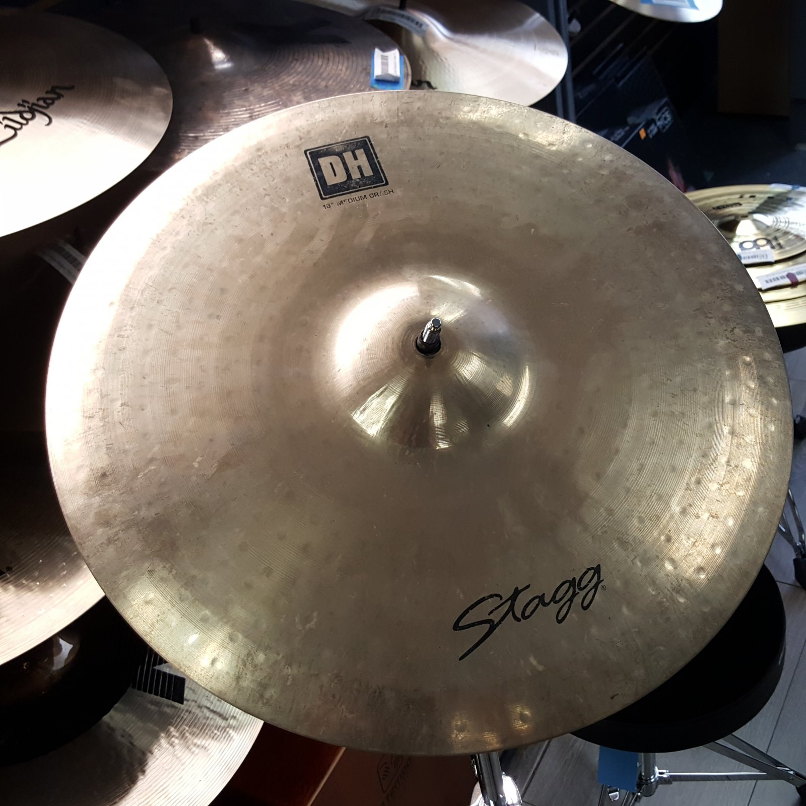 USED Stagg 16 DH Medium Crash Cymbal
