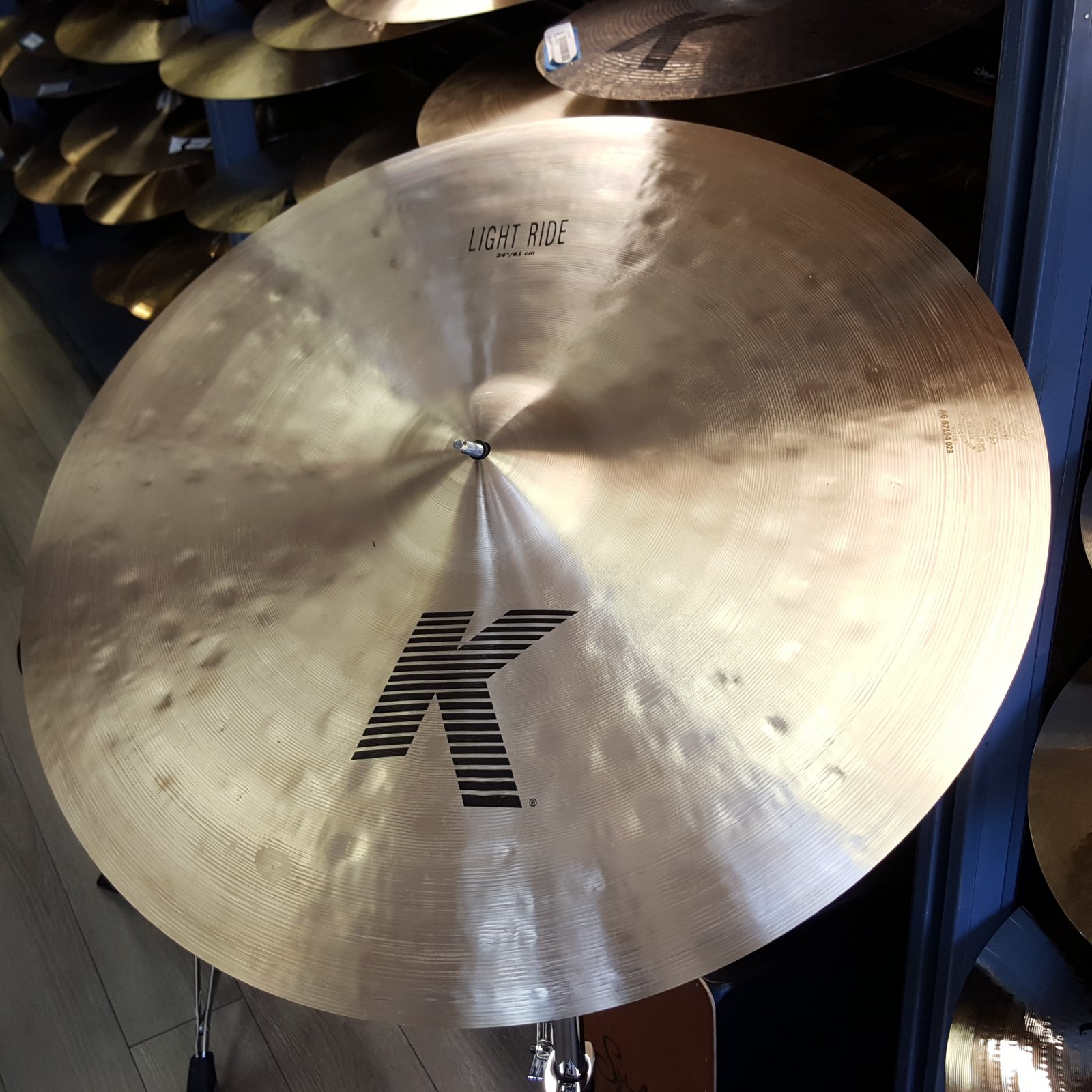 ZILDJIAN 24 K Light Ride 3274g