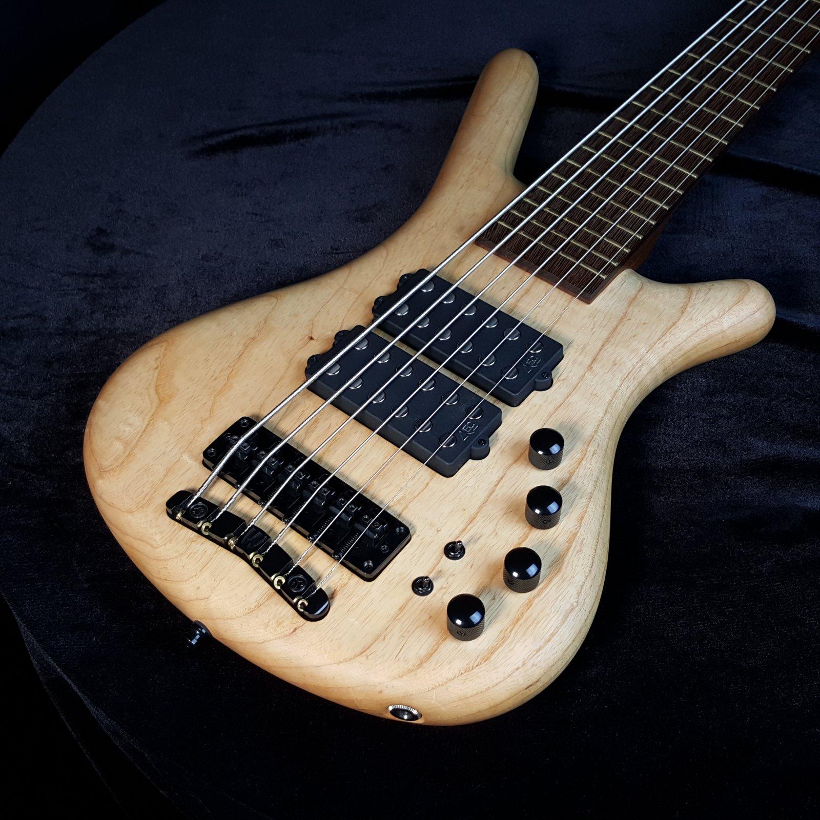 USED Warwick Corvette $$ 6-String Bass w/ Gig Bag