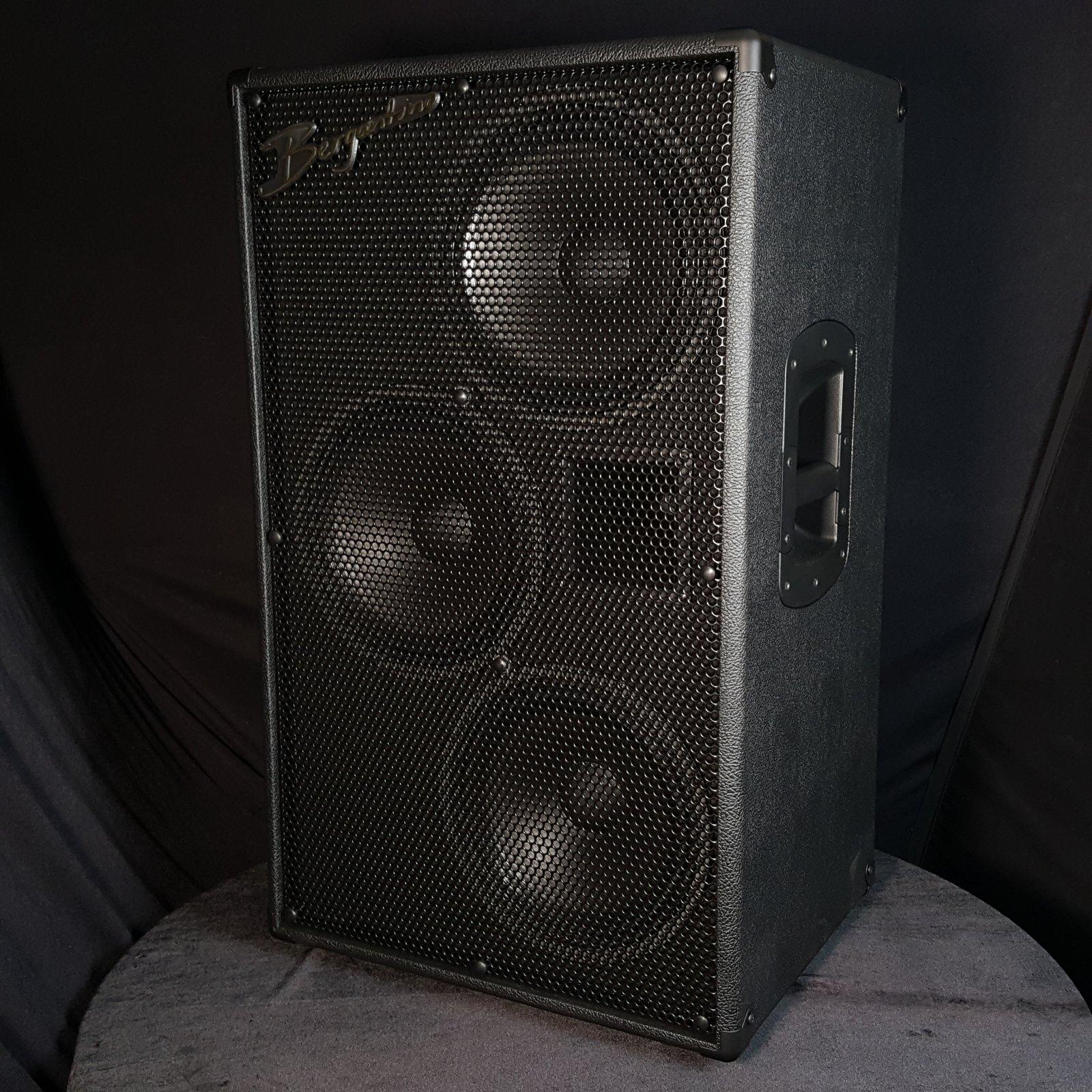 Bergantino HG410X 4 by 10 Neo Bass Cabinet, 49lbs.