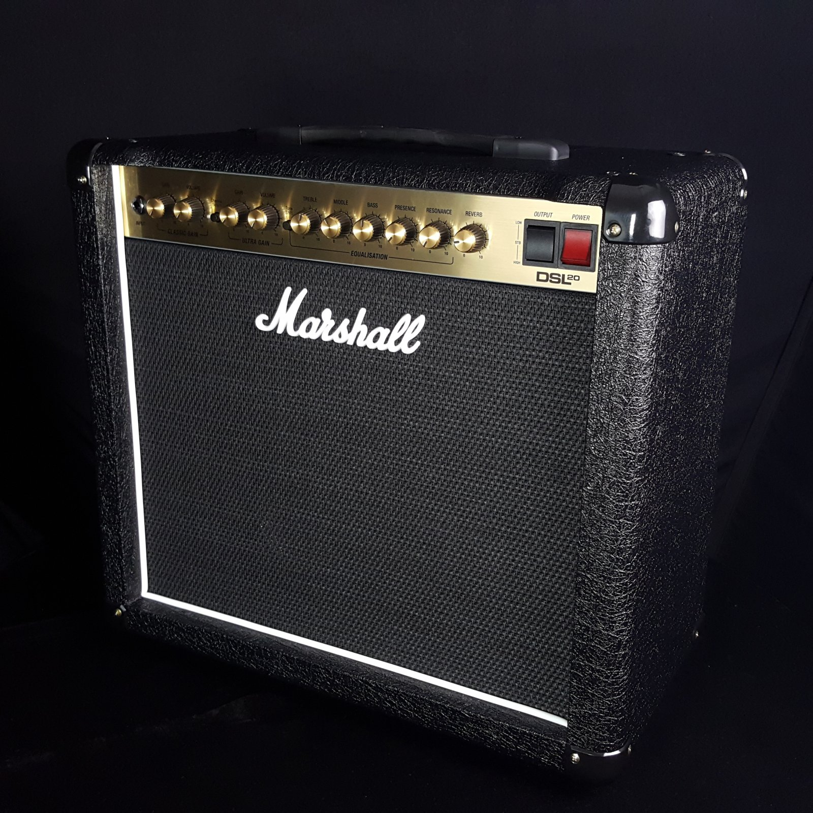 Marshall DSL20CR Electric Guitar Combo Amplifier w/double footswitch