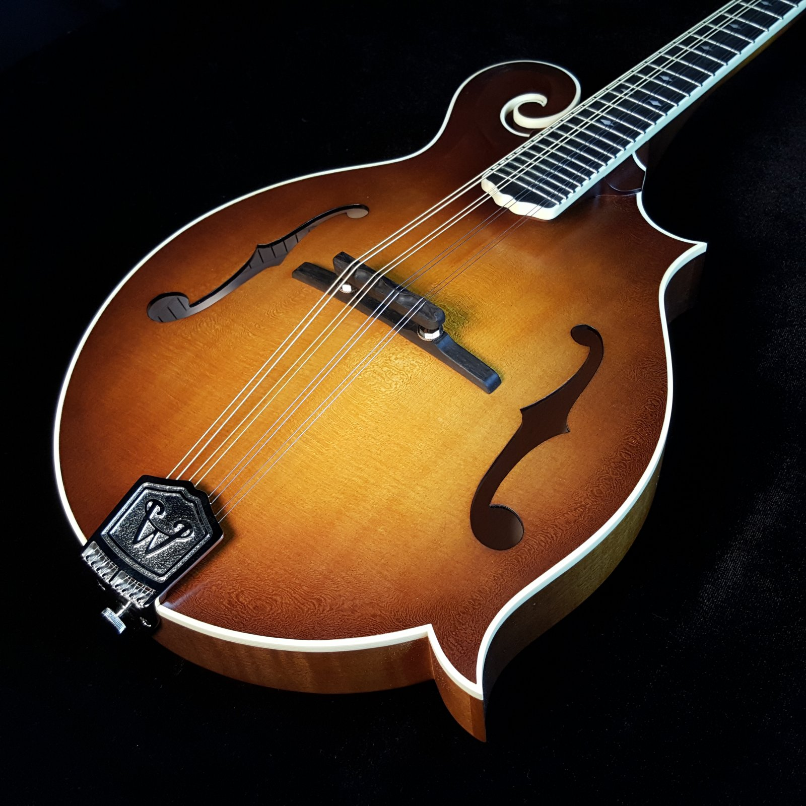 Weber Bitterroot F Style Mandolin F14-F(2) Faded Amber Display Model