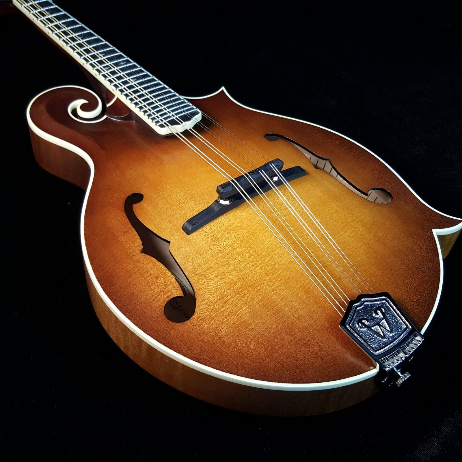 Weber Bitterroot F Style Mandolin F14-F(2) Faded Amber