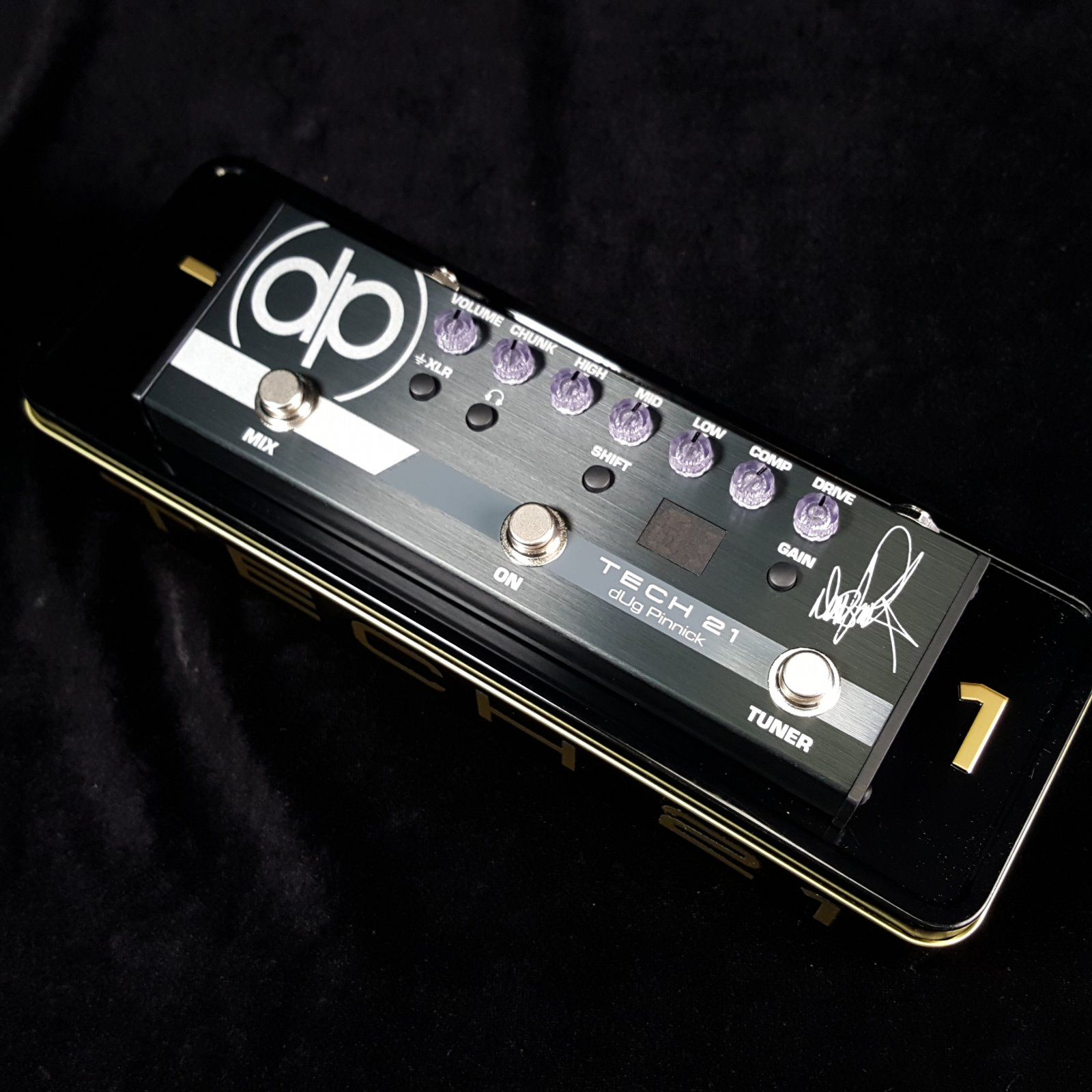 Tech 21 Dug Pinnick Signature Bass Pedal DP-3X