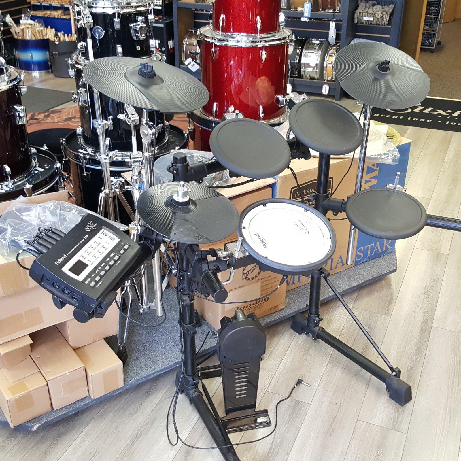 USED Roland V-Drum TD-3 TD3 Electronic Drum Kit
