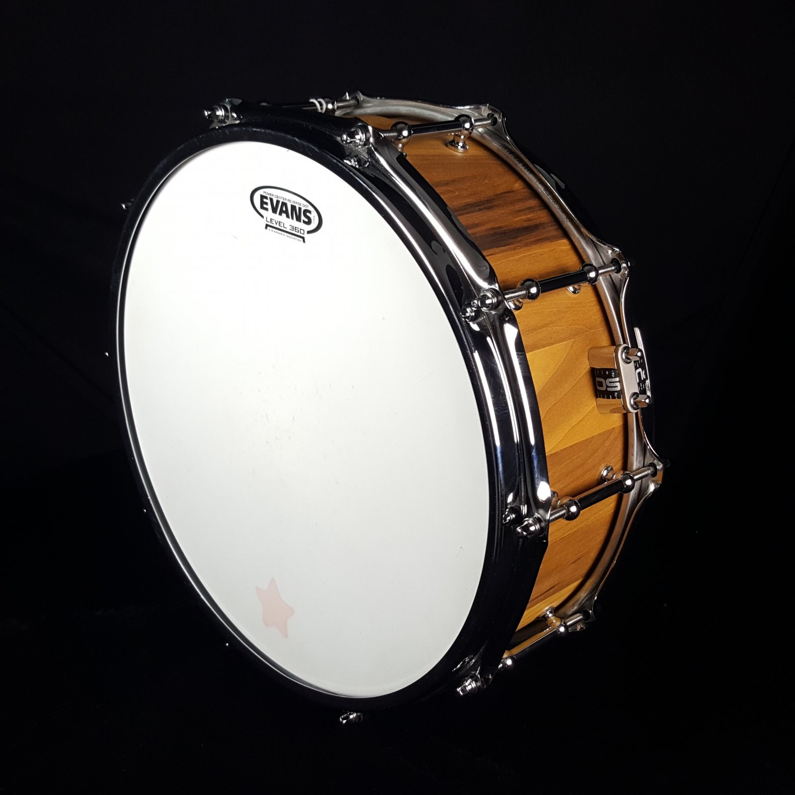 Calderwood Poplar Stave snare drum 5x14 w/bag