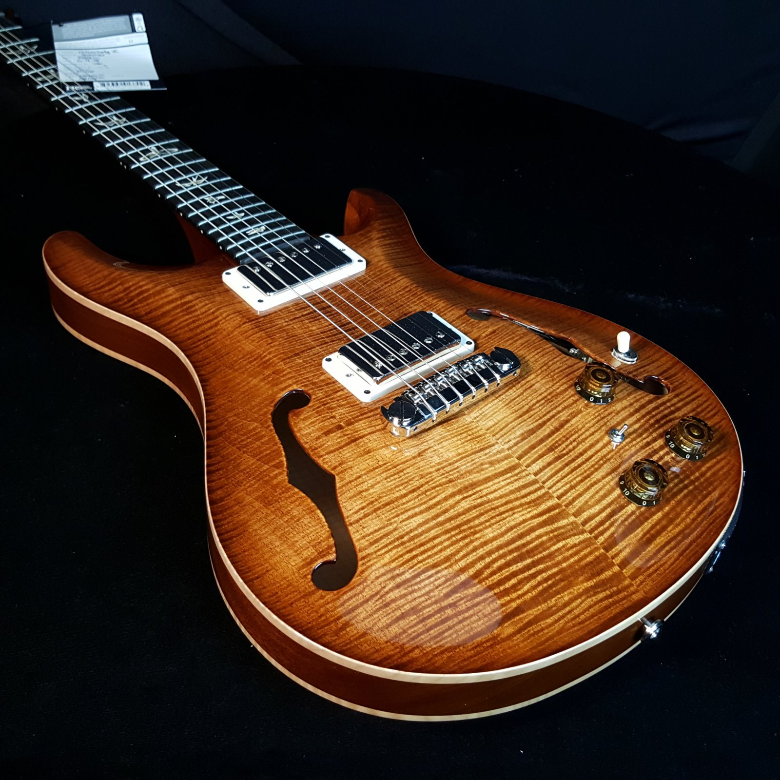 PRS Paul Reed Smith HBII Hollow Body II Piezo 10 Top Copperhead
