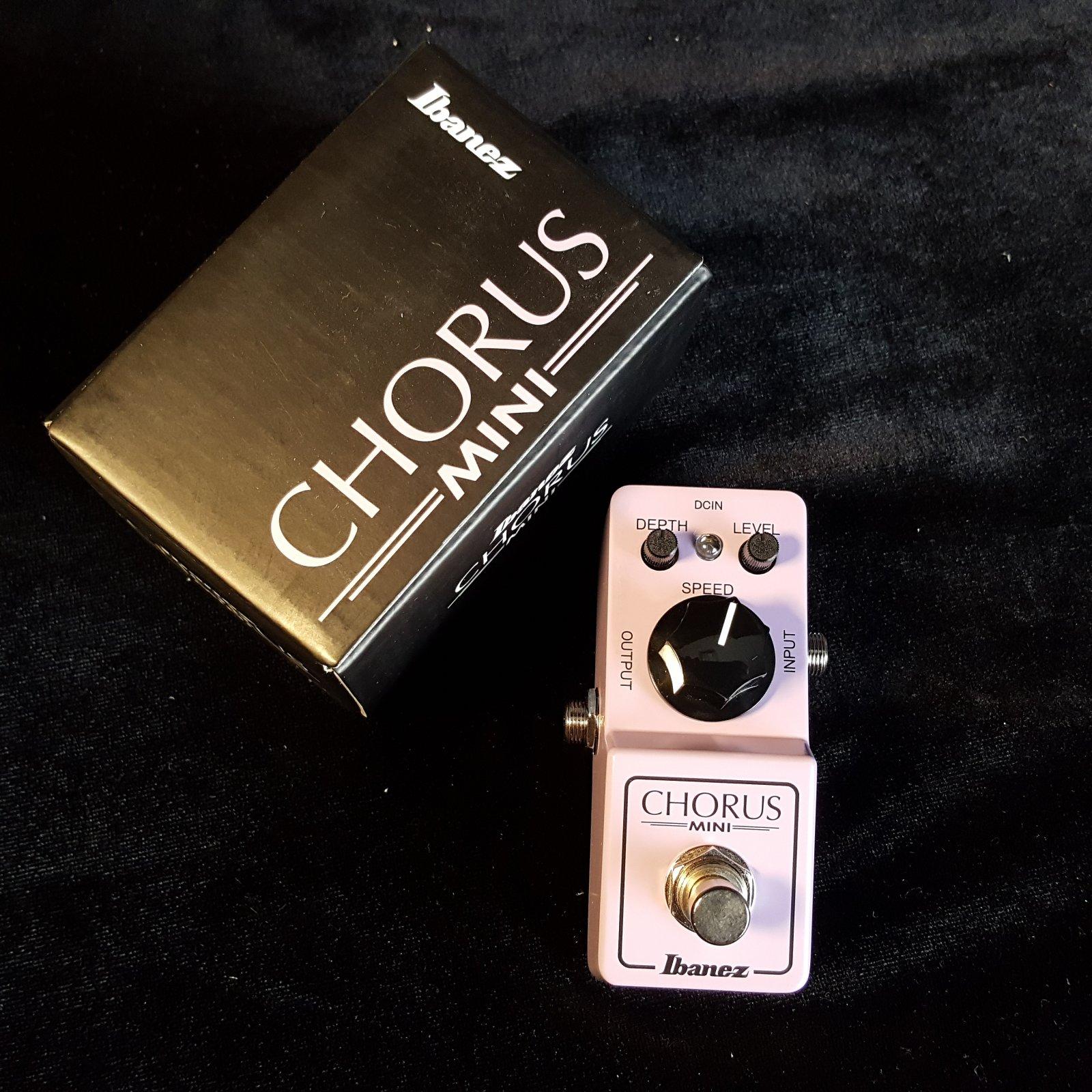 Ibanez Chorus Mini Effects Pedal CSMINI
