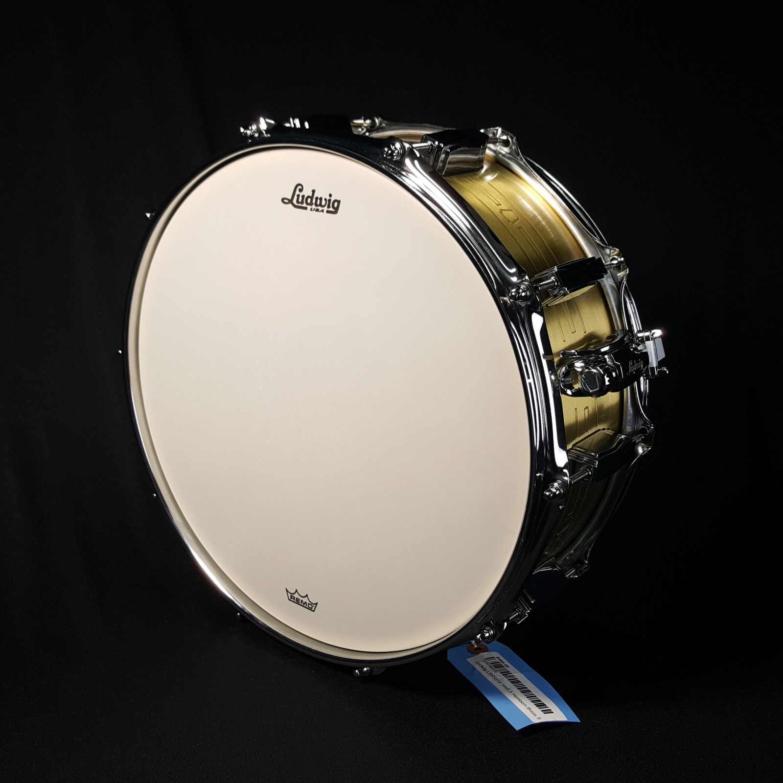 Ludwig LBR5514 14x5.5 Heirloom Brass Snare Drum