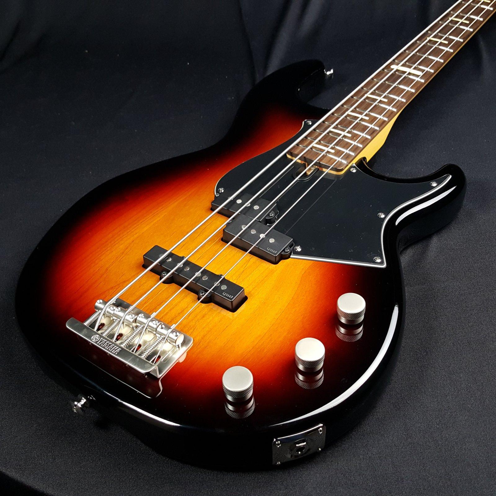 Yamaha BBP34 4 String Electric Bass Vintage Sunburst