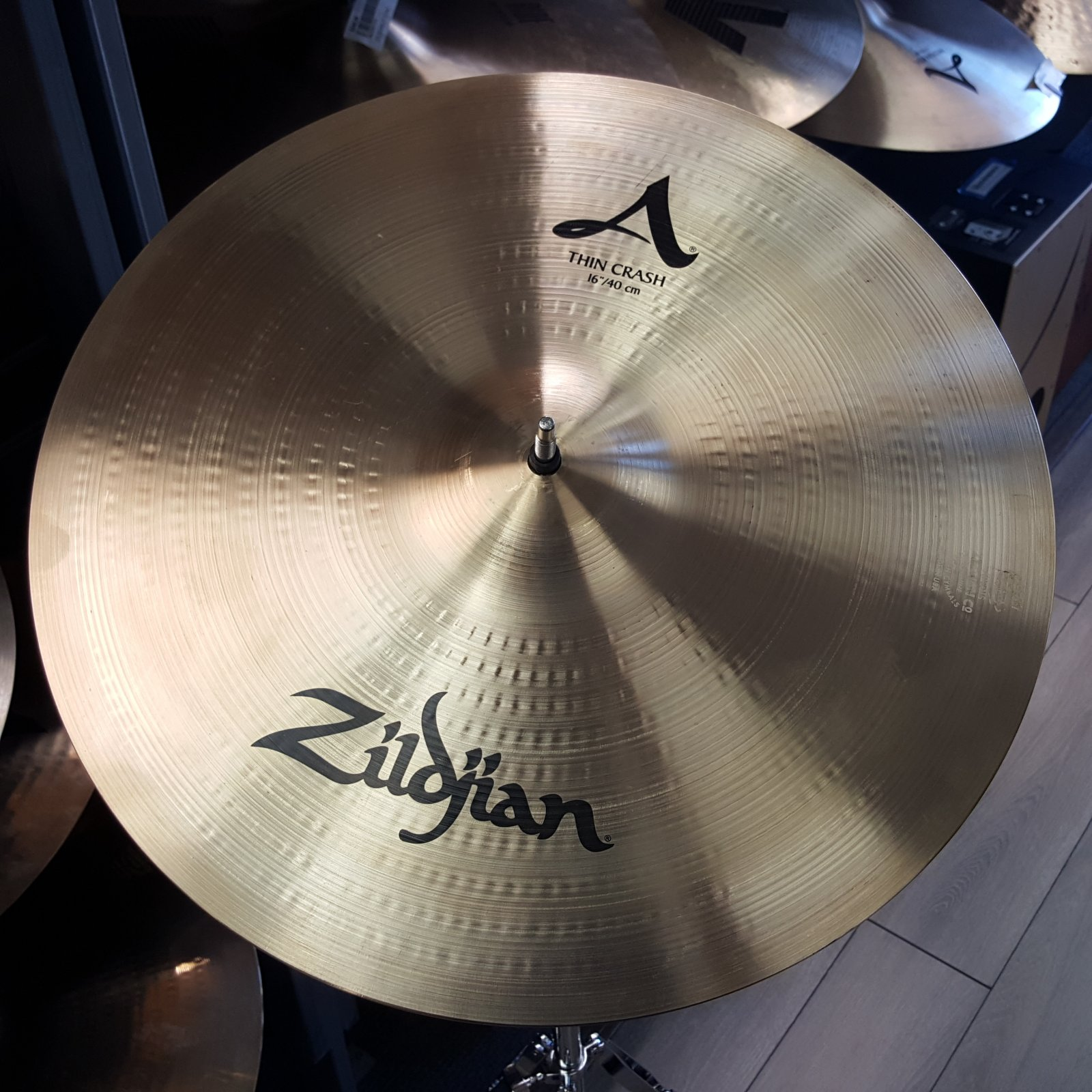 USED Zildjian 16 A Thin Crash Cymbal