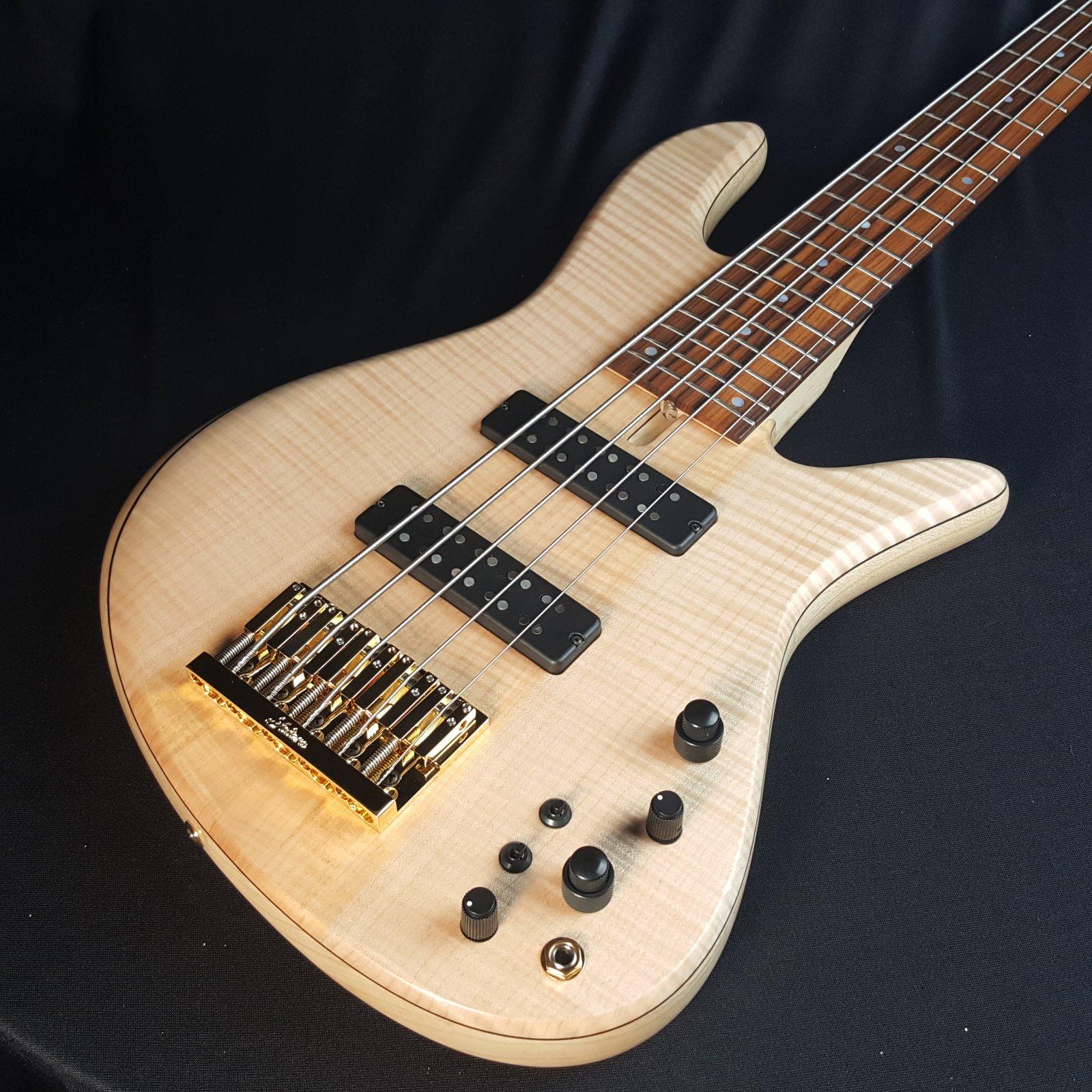 Fodera Emperor Standard 5 String Bass With Case 9lb 5oz