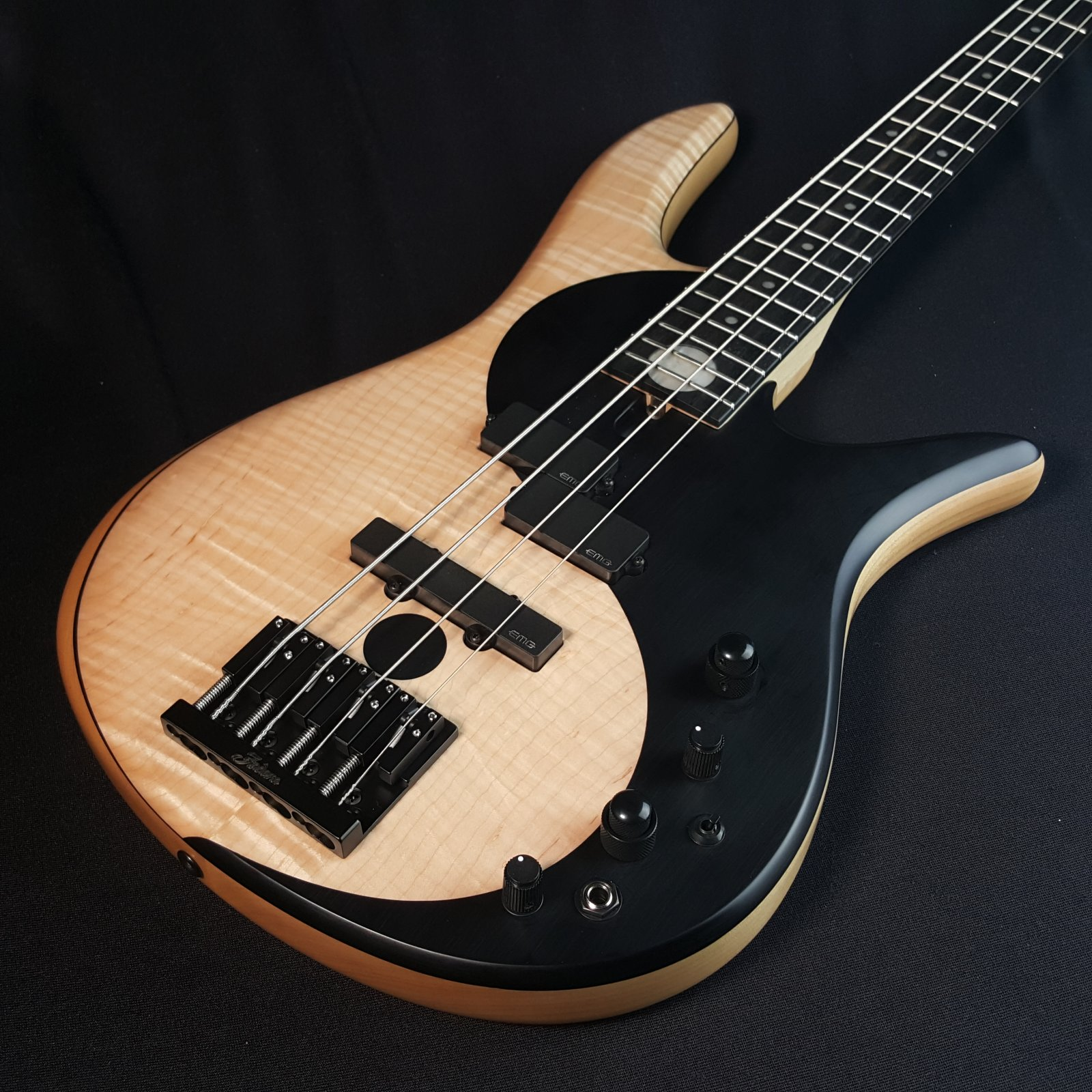 Fodera Yin Yang Standard 4 String Bass With Case