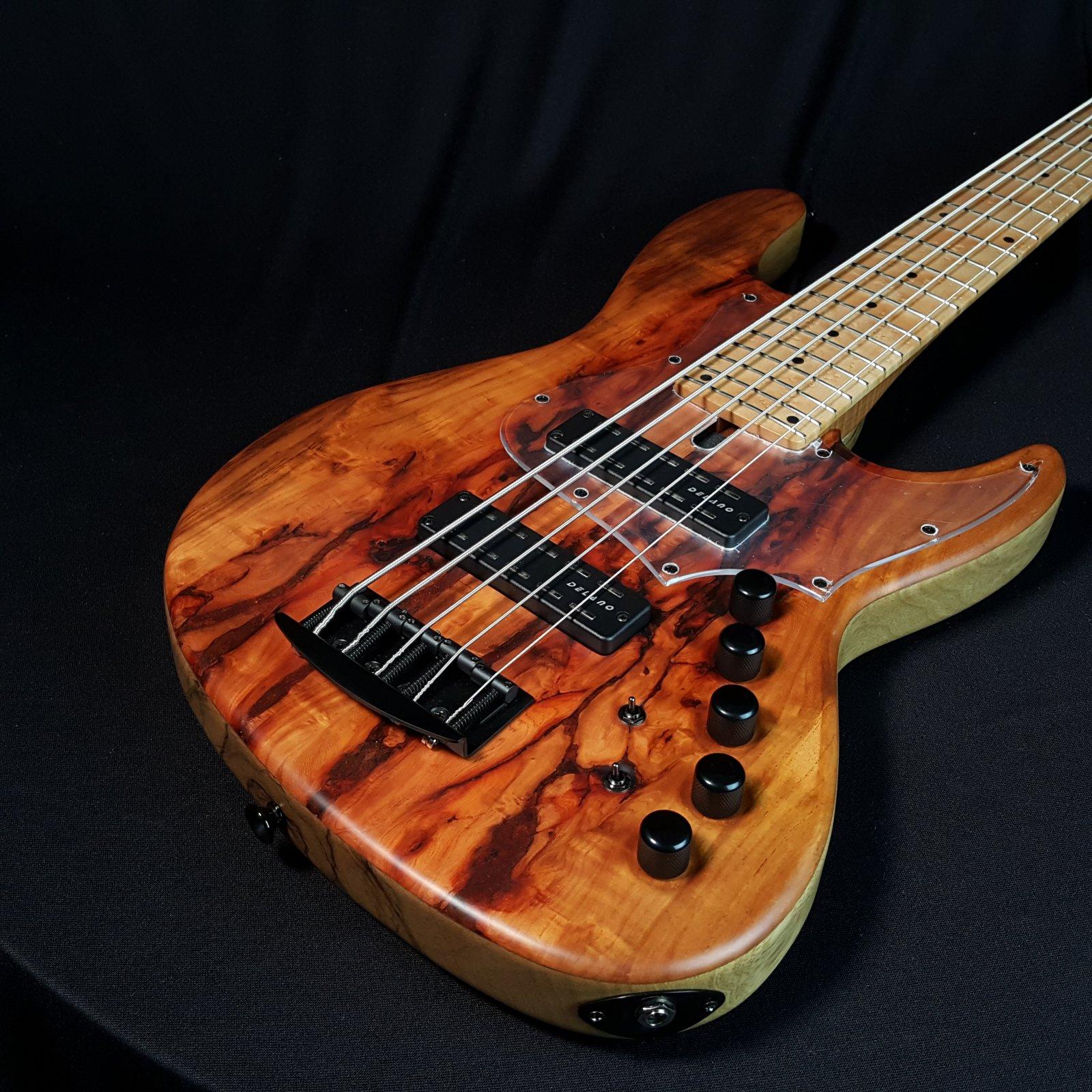 Maruszczyk Elwood L5a 5 String Custom Padouk, Korina