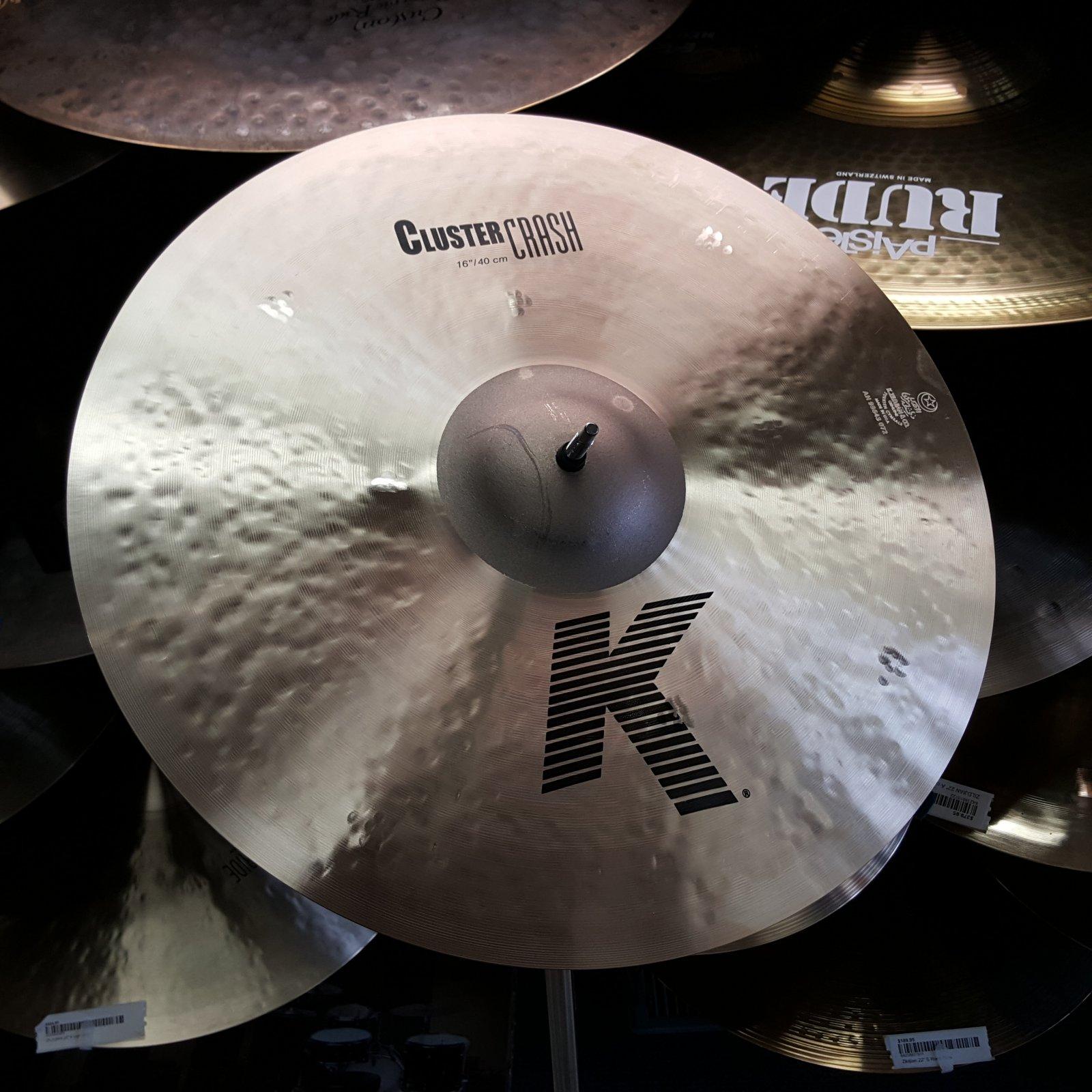 Zildjian 16 K Cluster Crash Cymbal 965g