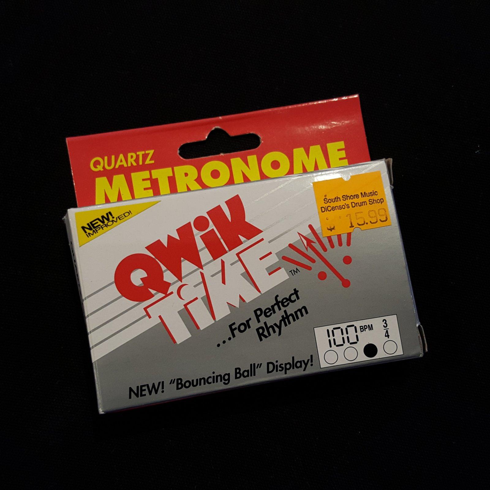 Qwik Time QT5 Digital Metronome