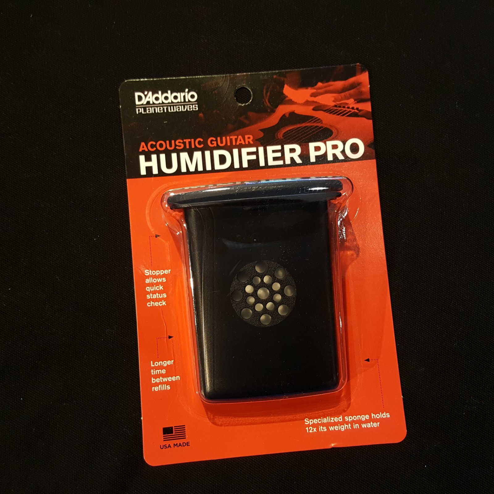 D'Addario Planet Waves GH Acoustic Guitar Humidifier