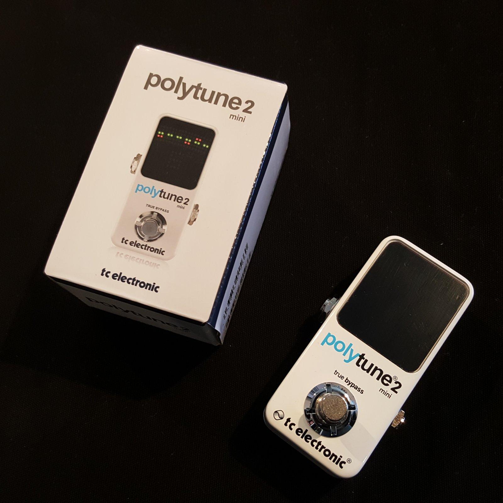 TC Electronic PolyTune Mini Polyphonic Tuner Pedal