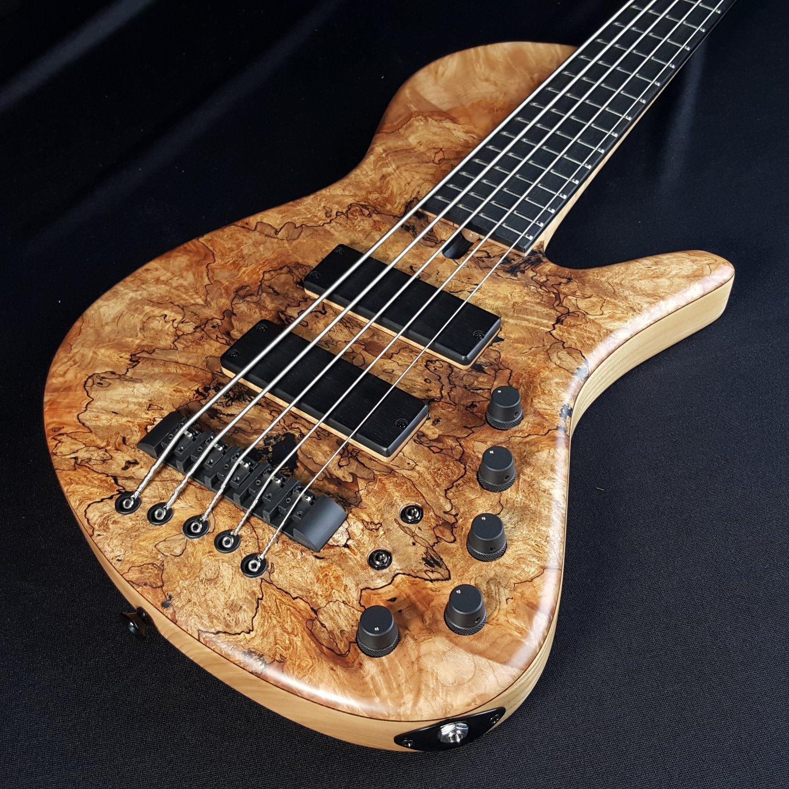 Maruszczyk 5-String Bass Sputnik 5A Single Cut w/ Gig Bag