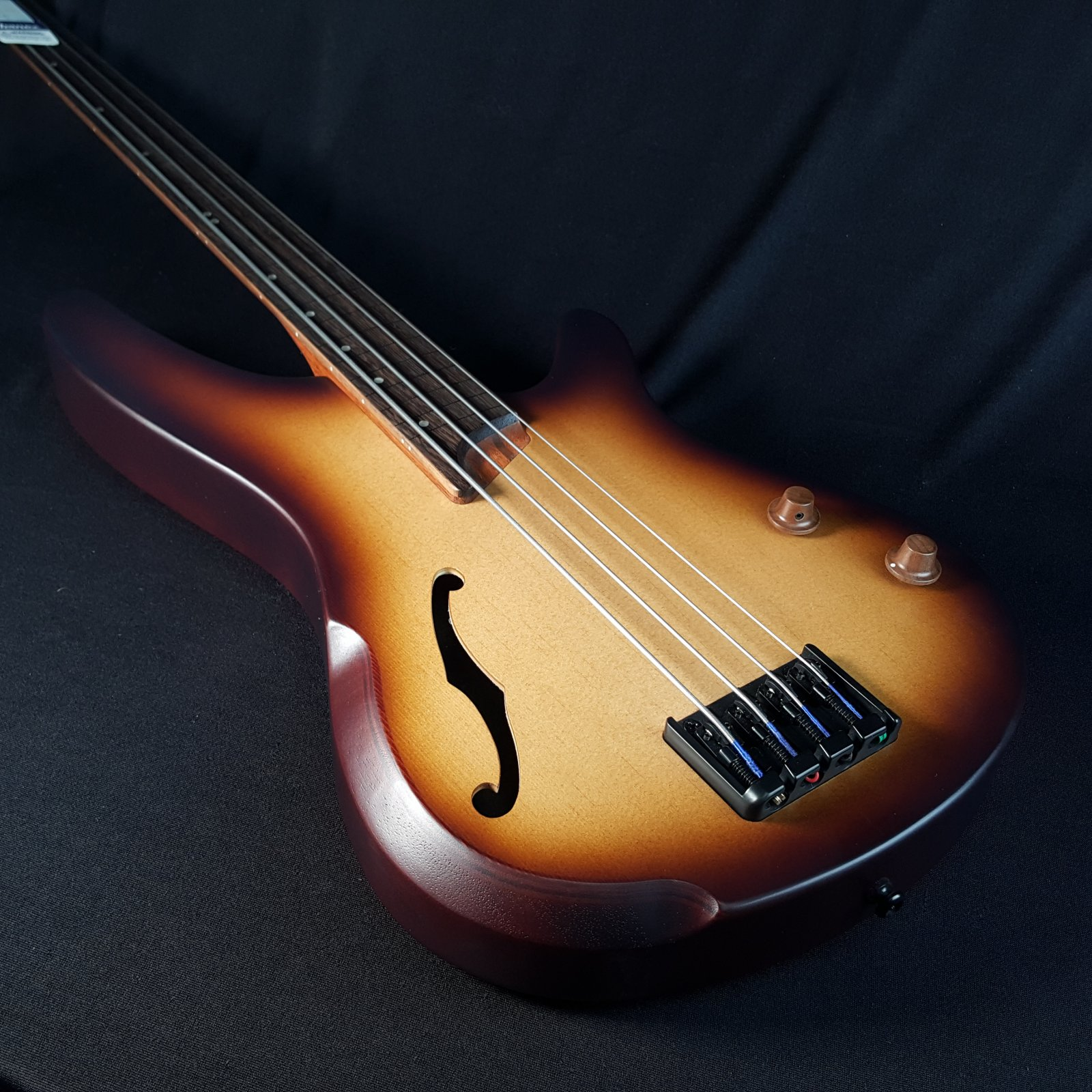 Ibanez SRH500FNNF Semi-Hollow 4 String Fretless Electric Bass Guitar