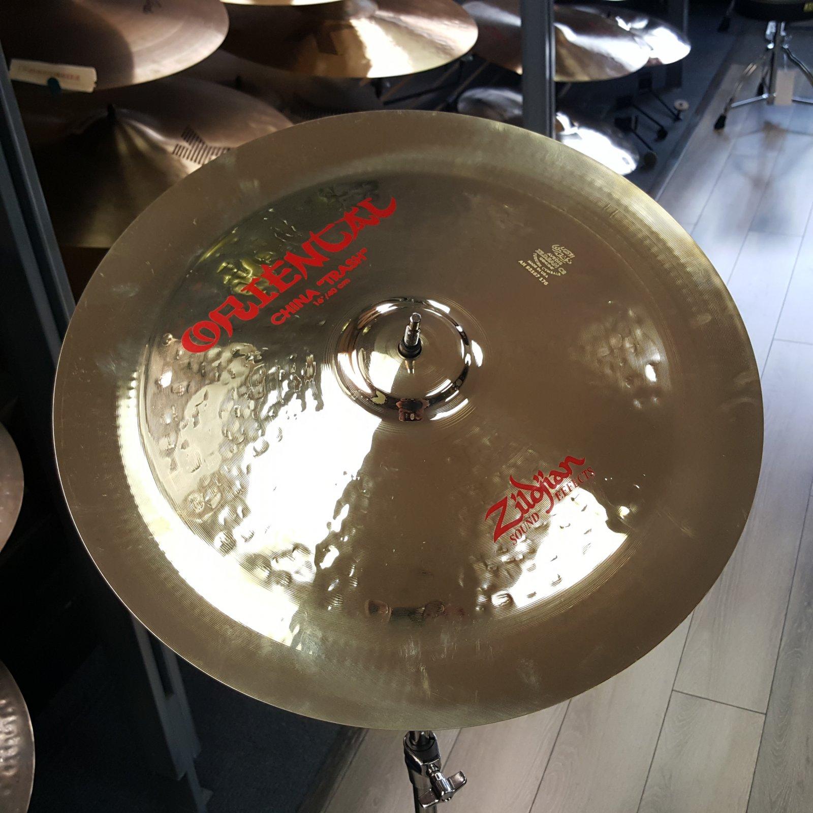 USED Zildjian 16 Oriental China Trash Cymbal