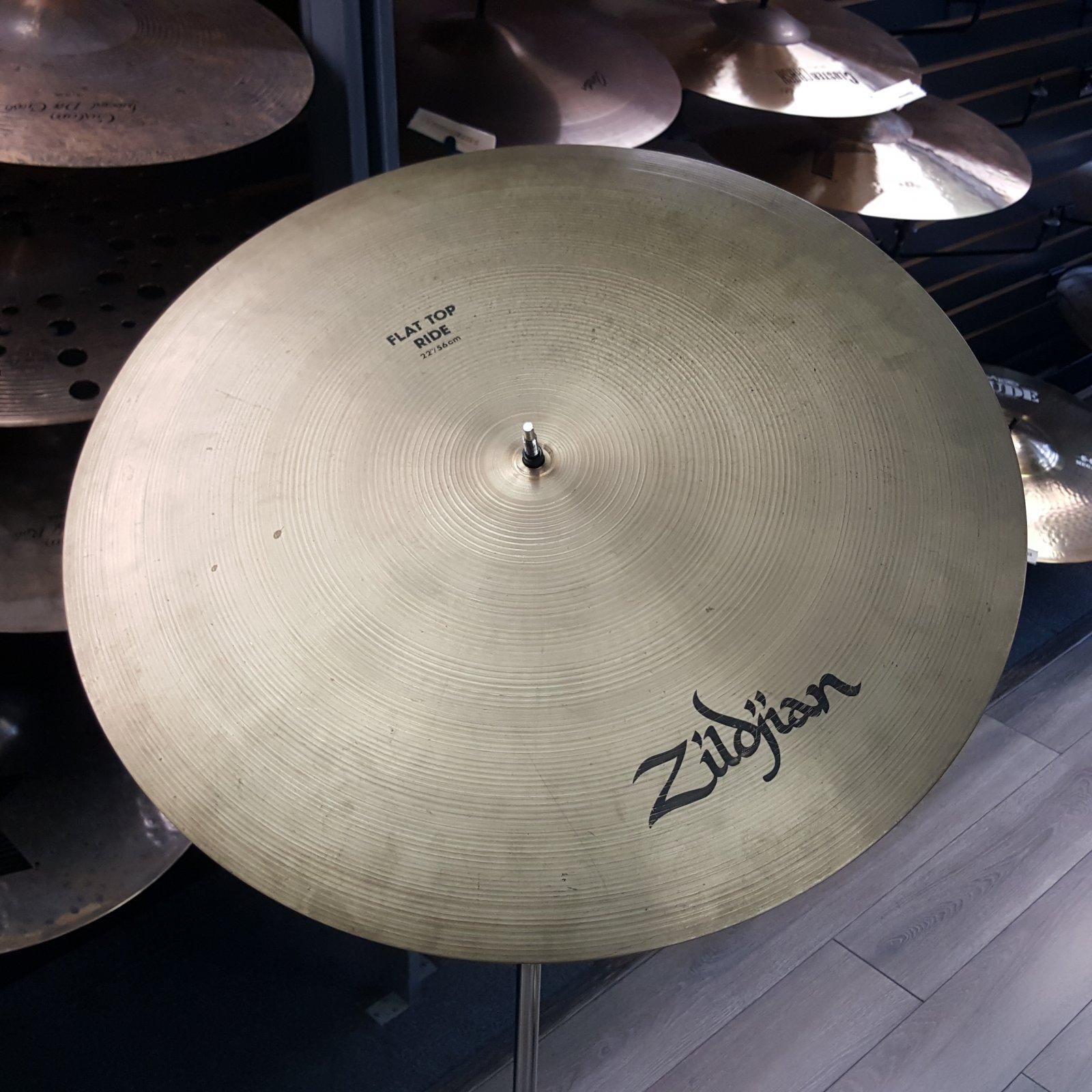 USED Zildjian 22 A Flat Top Bell Ride Cymbal 3630g