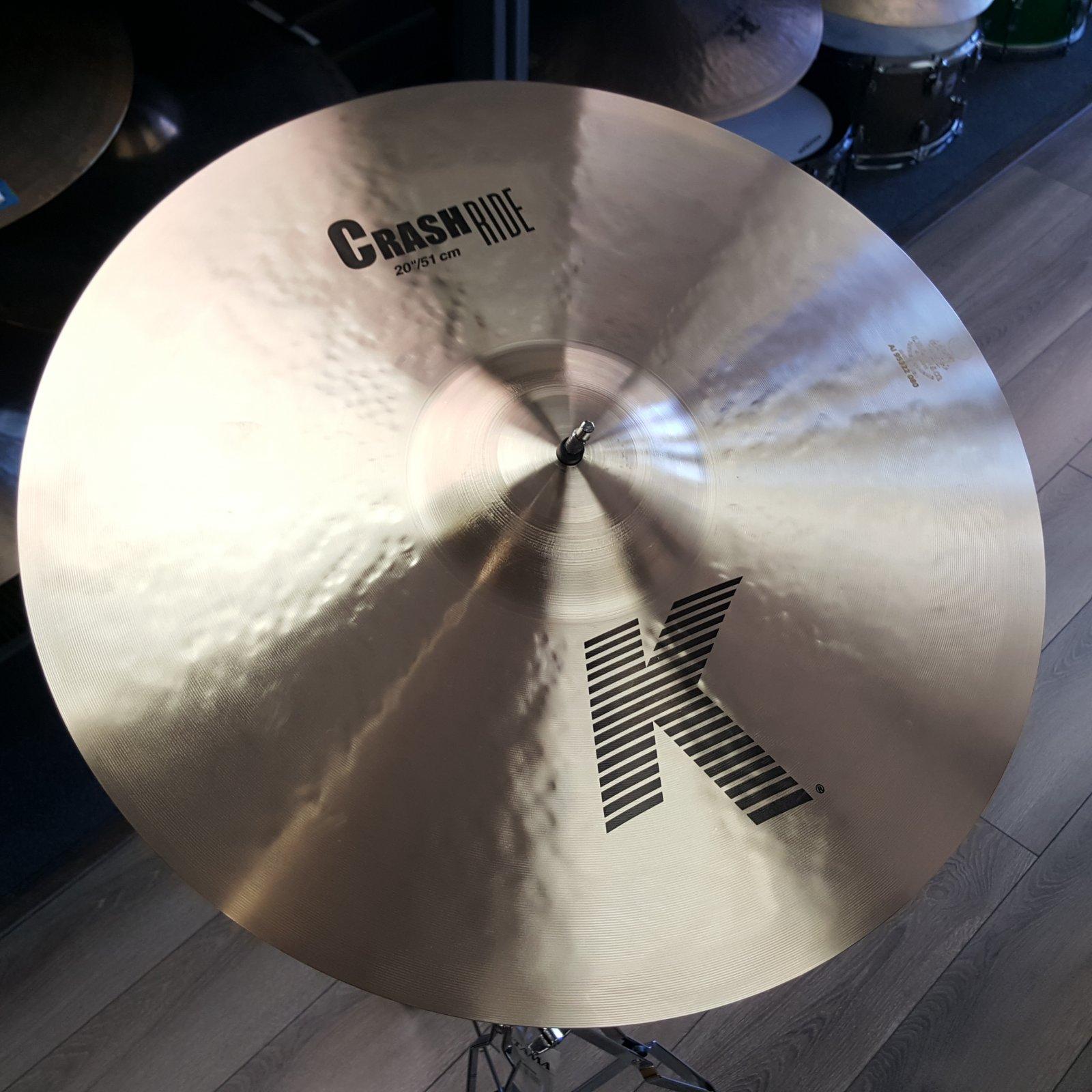Zildjian 20 K Crash Ride Cymbal K0810
