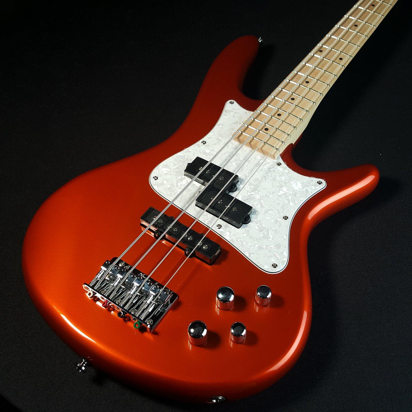 Ibanez Mezzo SRMD200 Medium Scale Bass- Roadster Orange Metallic