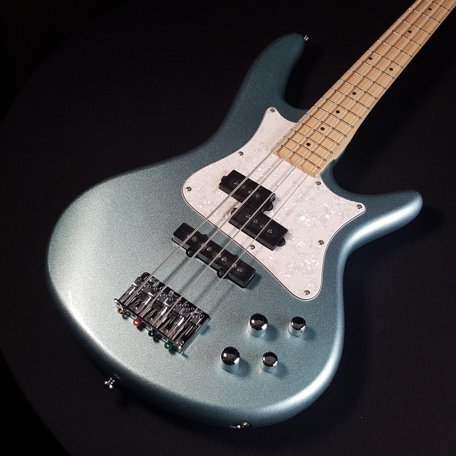 Ibanez Mezzo SRMD200 Medium Scale Bass- Sea Foam Pearl Green