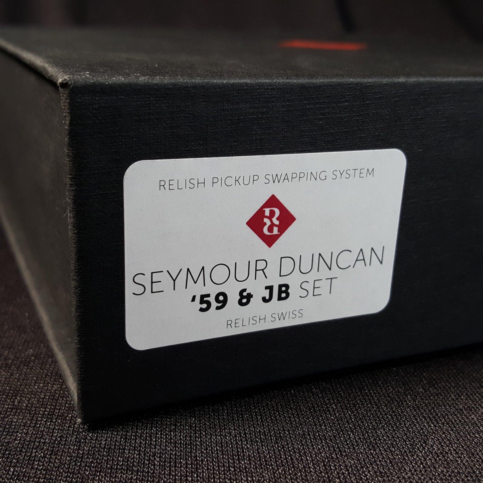 Relish Seymour Duncan 59/JB set - 01