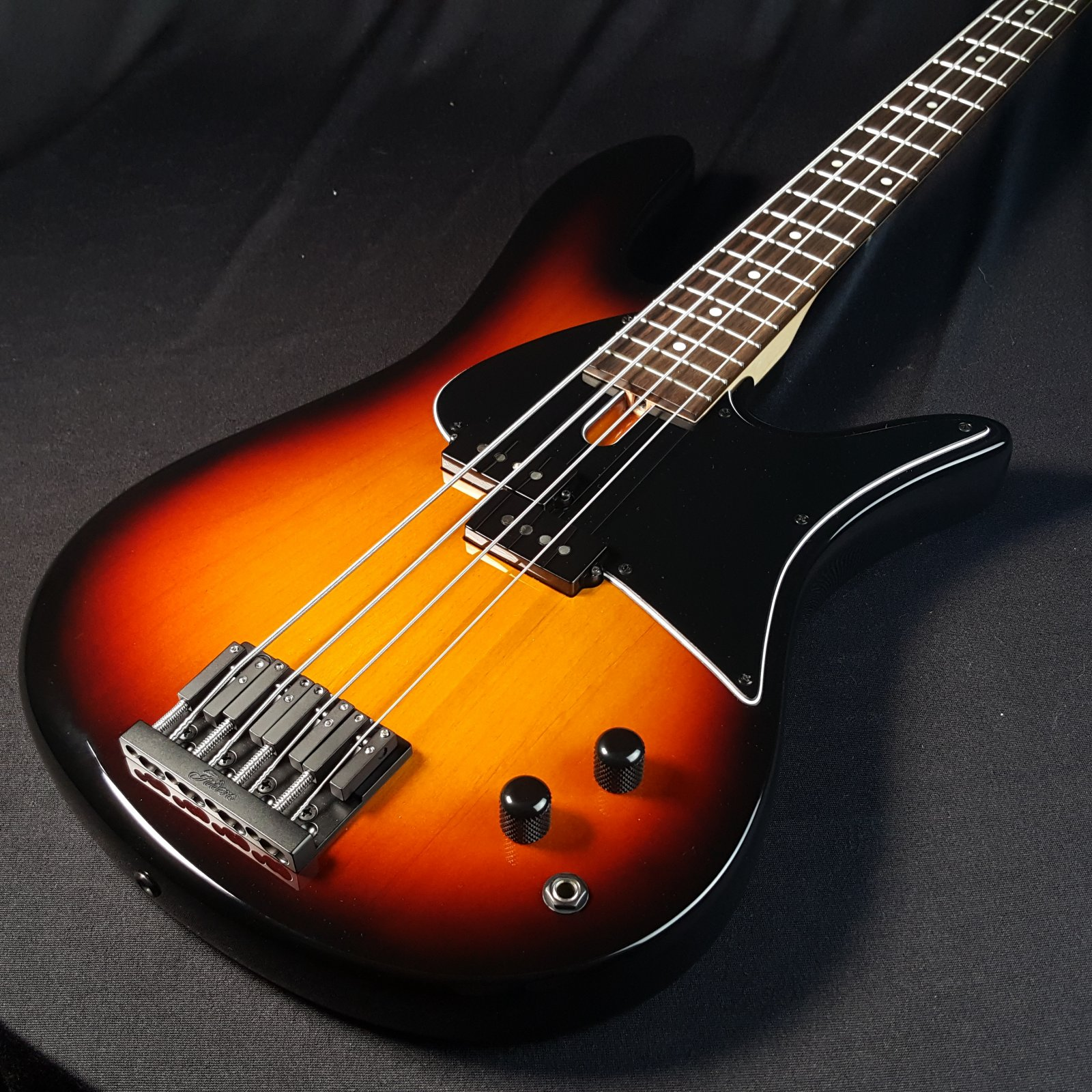 Used 2017 Fodera Monarch P 4 String Bass w/ Original Case