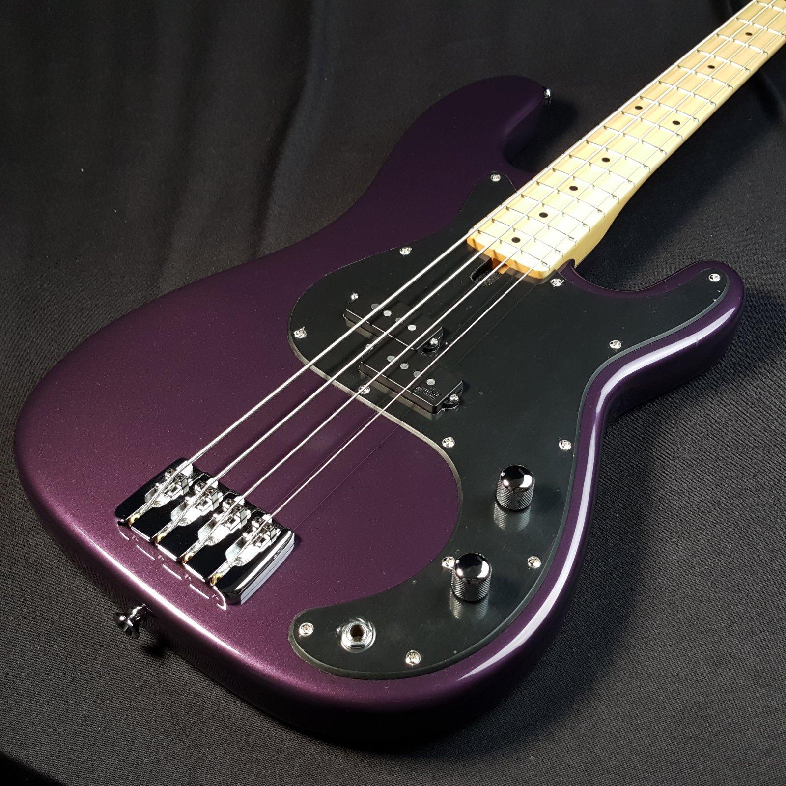2019 Maruszczyk Jake C Metallic Purple 4 String Bass w/Maruszczyk Gig Bag 7lb 11.5oz