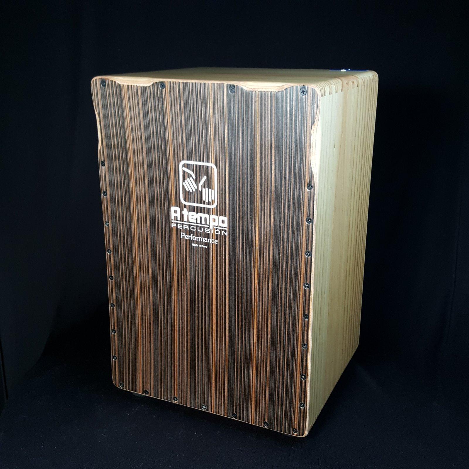 A TEMPO Performance Series Cajon Java Stripe with bag