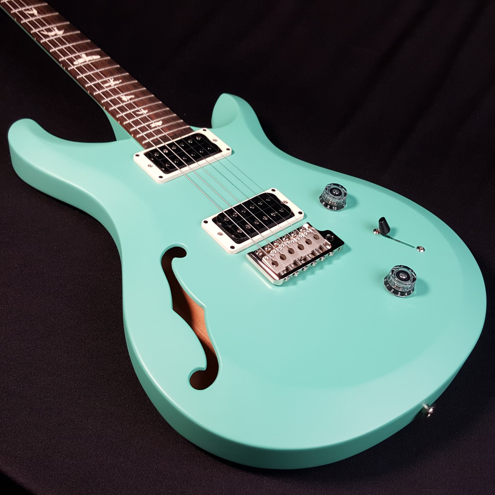 PRS Paul Reed Smith S2 Custom 22 Semi Hollow Robin's Egg Blue w/Bag