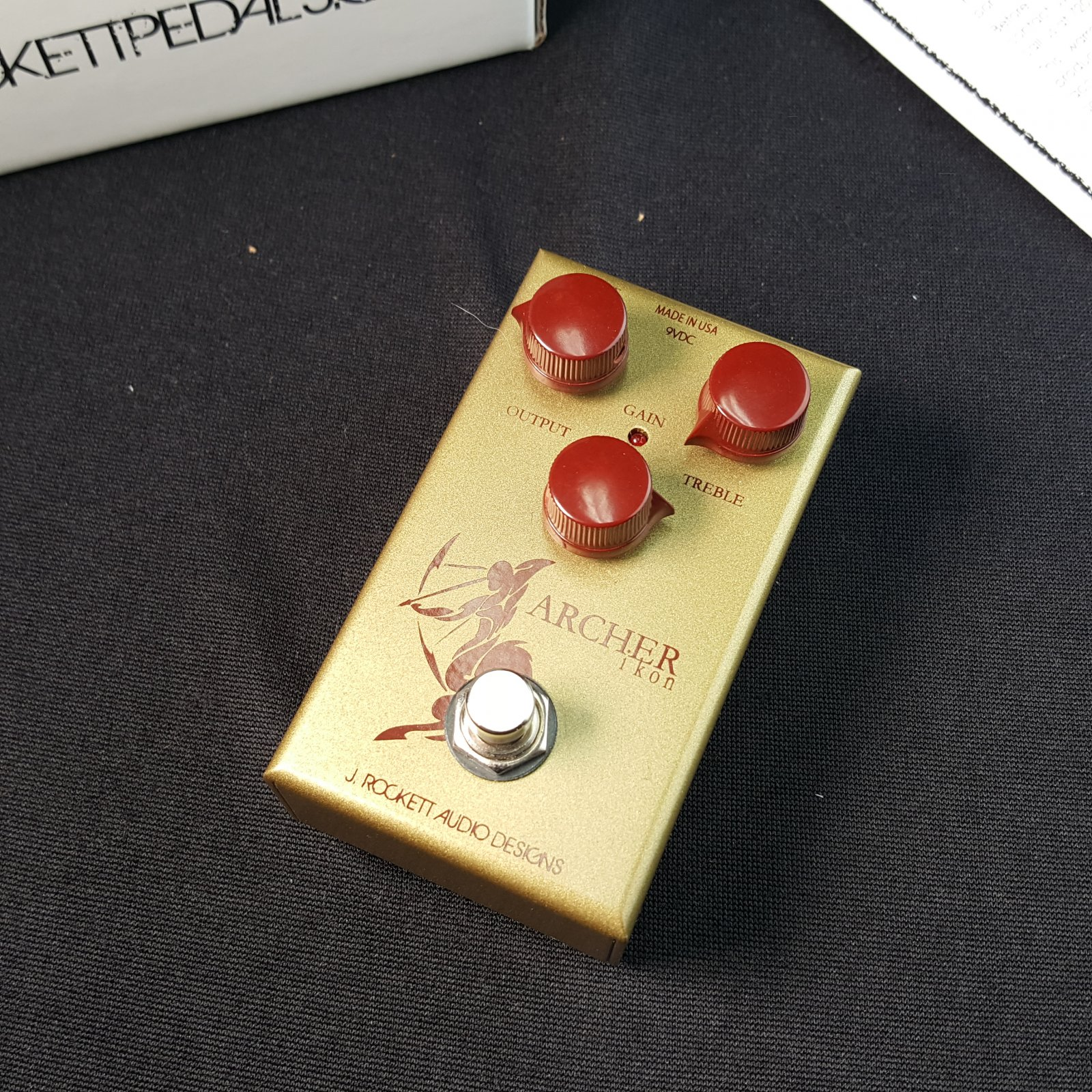 USED J. Rockett Archer Ikon Gain / Boost Pedal