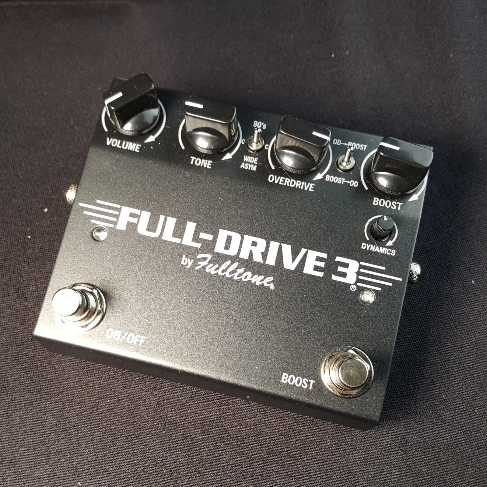 USED Fulltone Full Drive 3 Guitar Effects Drive Pedal