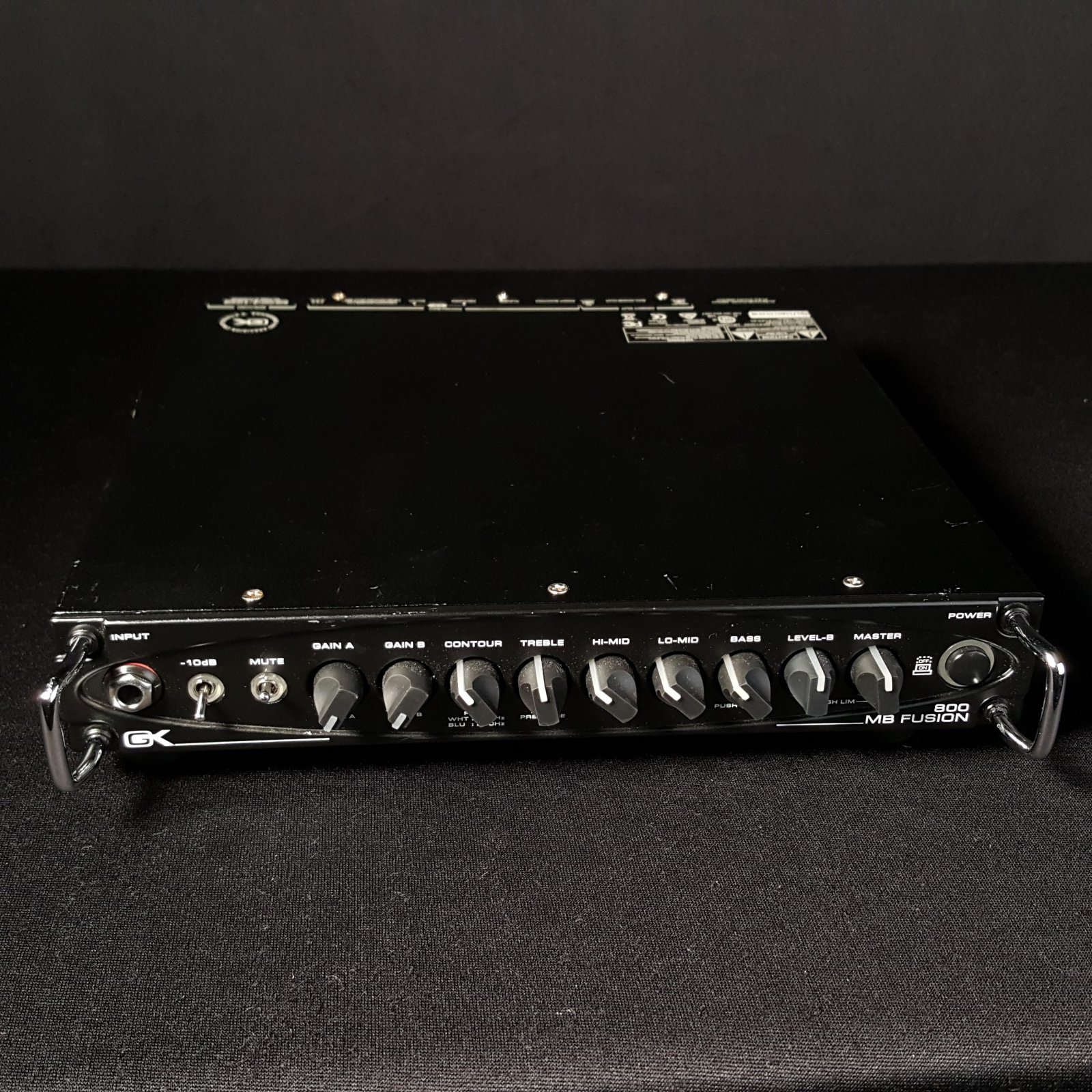 Used Gallien-Krueger GK MB800 Fusion Bass Amp Head