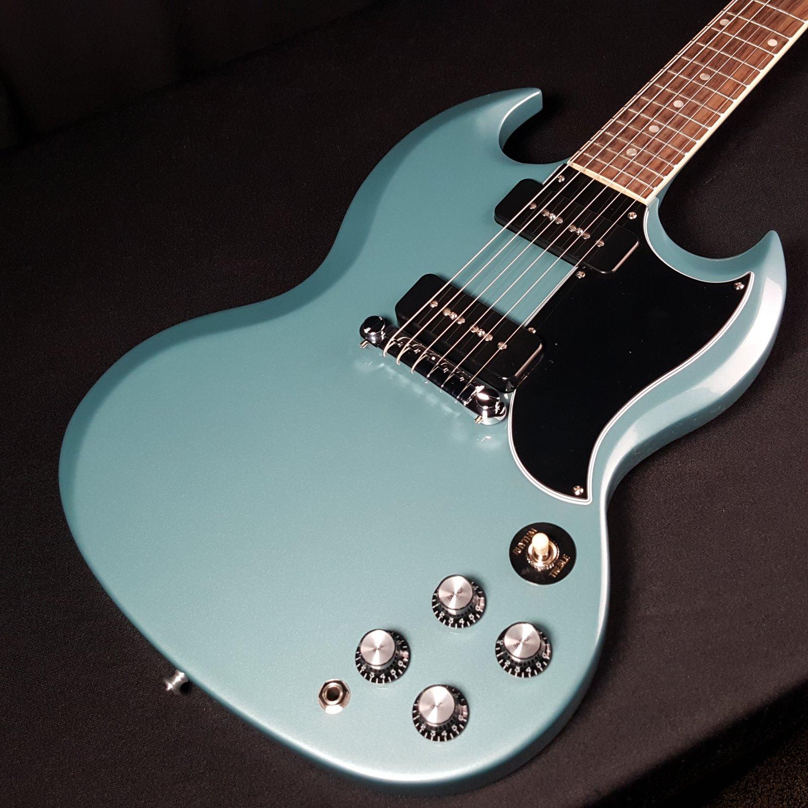 Gibson SG Special Faded Pelham Blue w/Hardshell Case