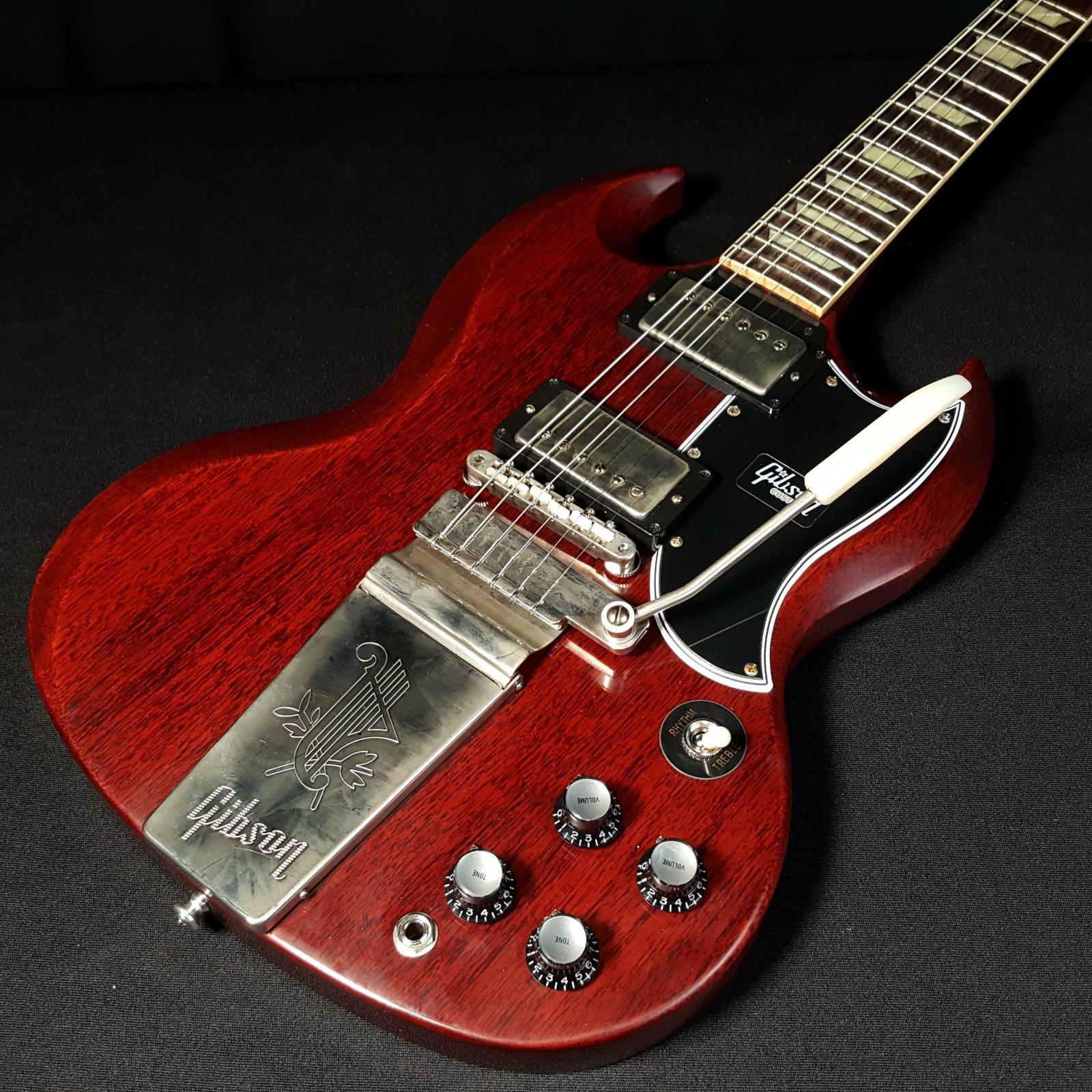 Gibson Custom Shop 1964 SG Standard Reissue VOS W/ Maestro Vibrola