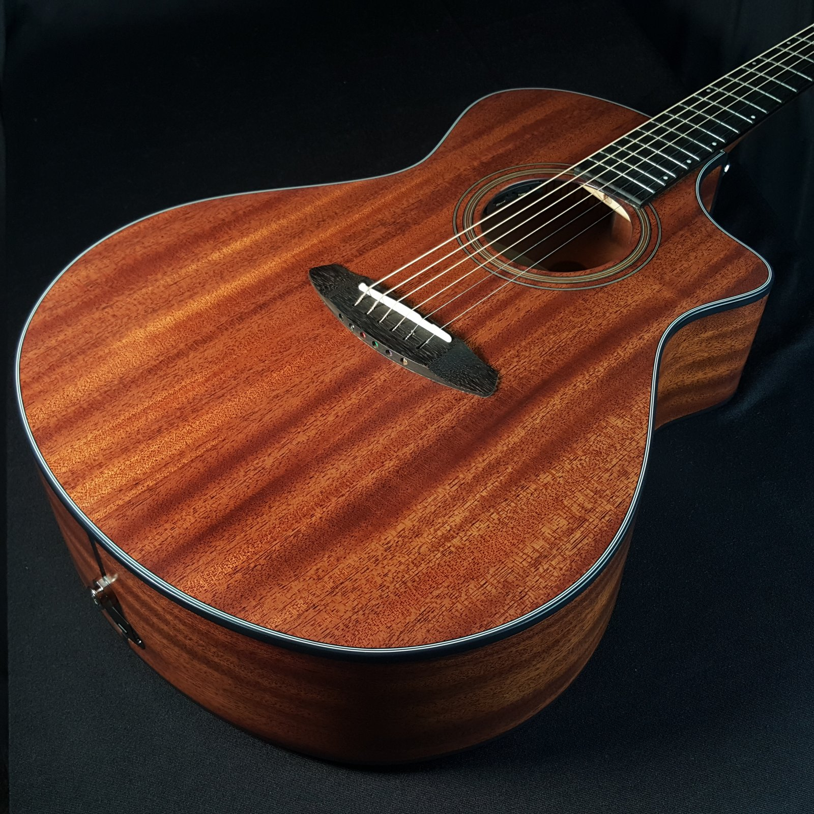 Breedlove Organic Collection Wildwood Concert Cutaway CE All Solid Mahogany