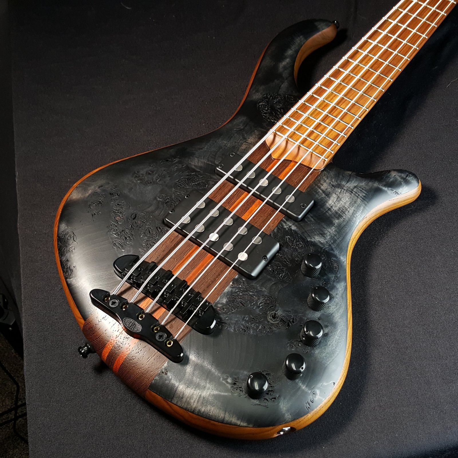 Mayones Patriot Tank 5 String Bass NAMM Show Special With Hybrid Bass Gig Bag