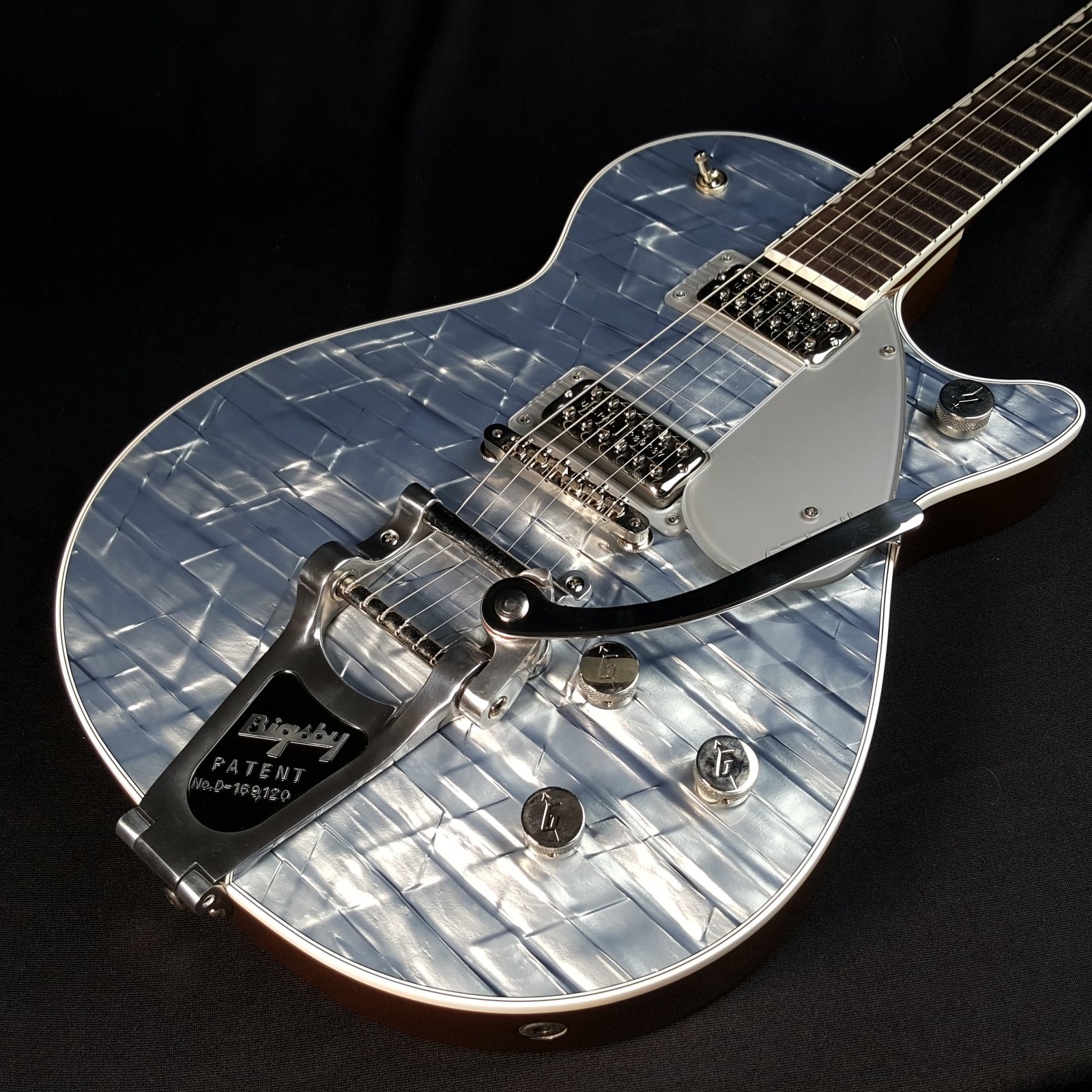 Used Gretsch G6129T Players Edition Limited Jet FT Light Blue Pearl w/Bigsby